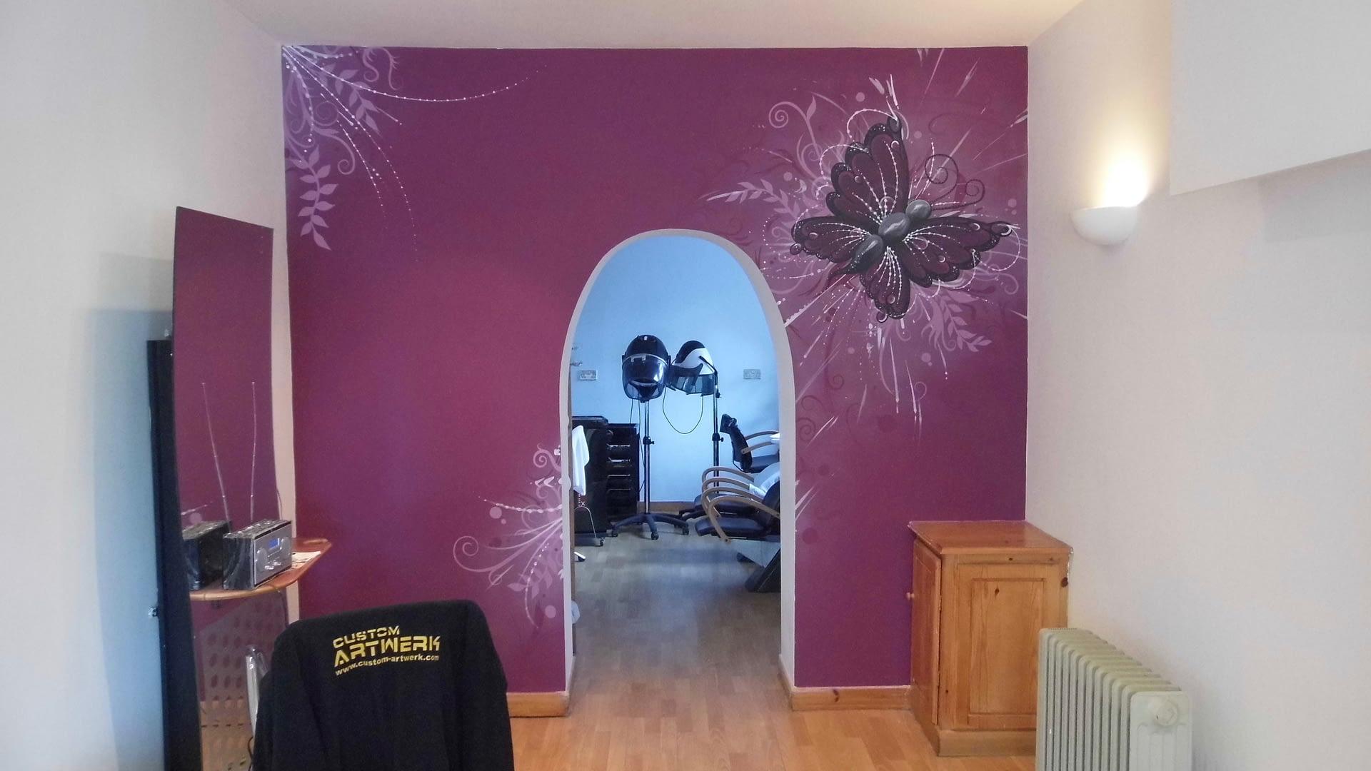 Salon Wall Mural