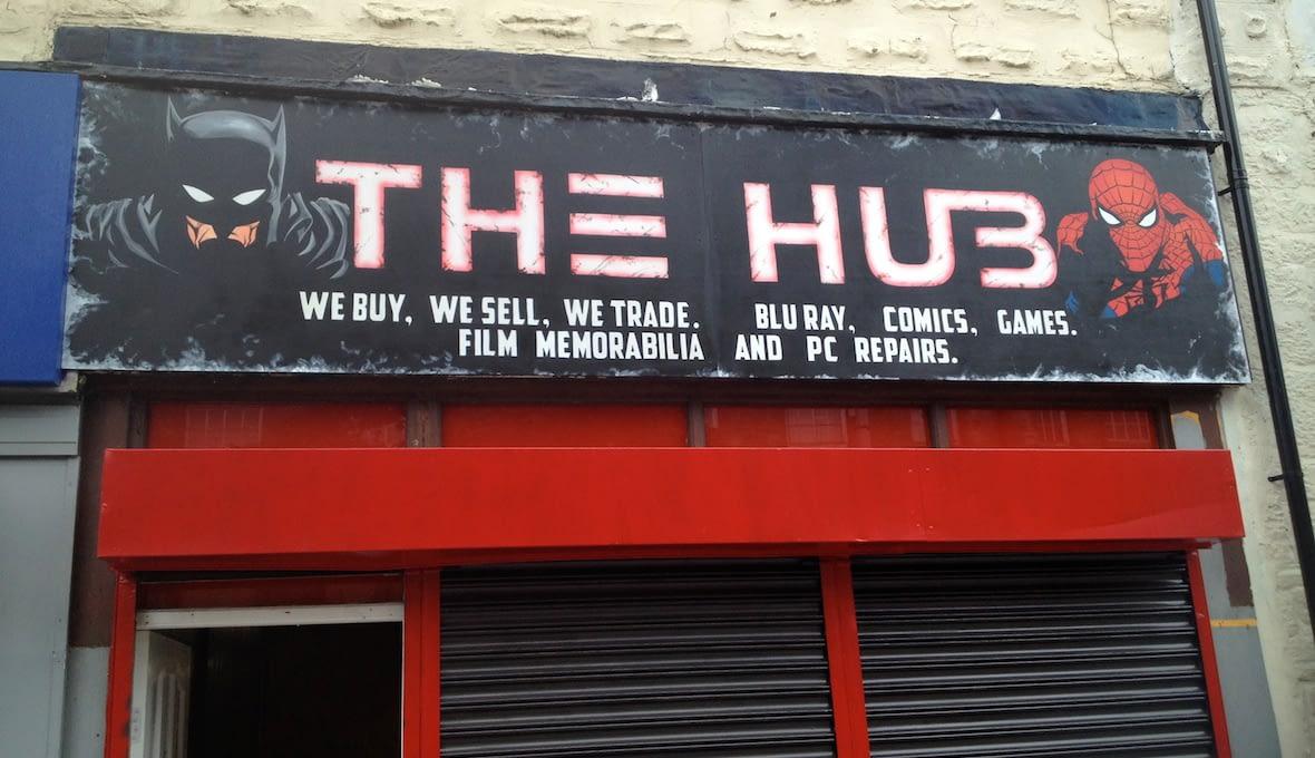 The Hub Signage