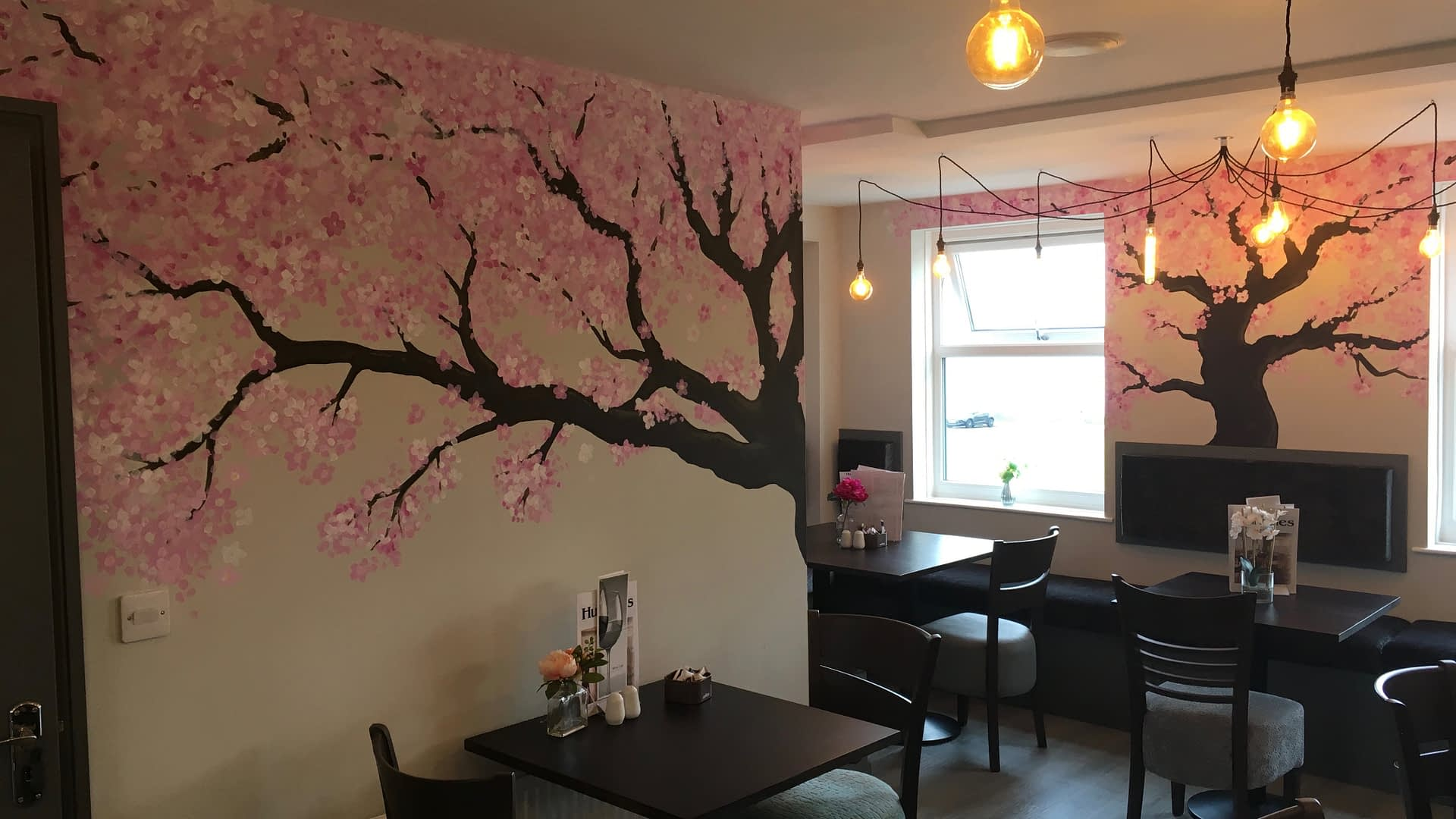 Blossom Mural ( Humbles Seaham )
