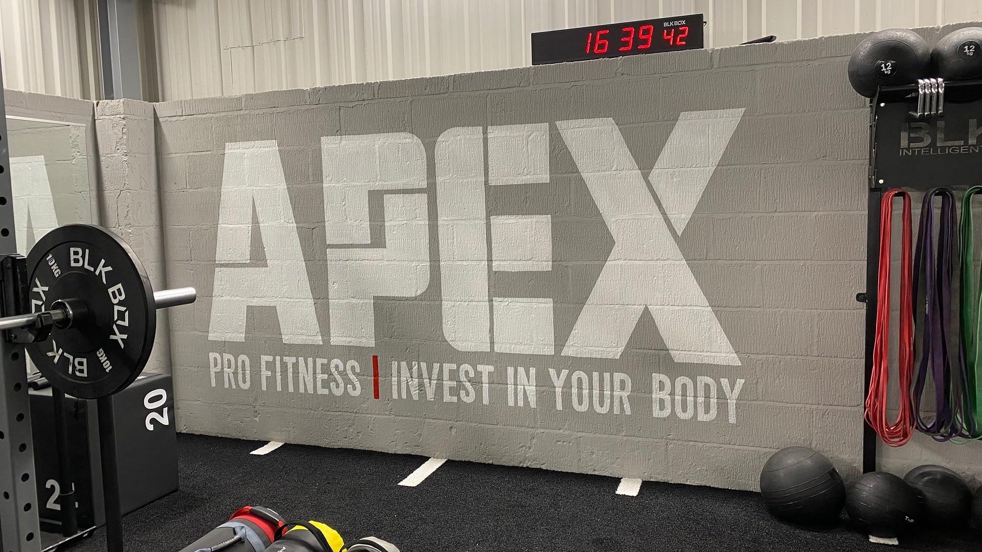 Gym Wall Logo
