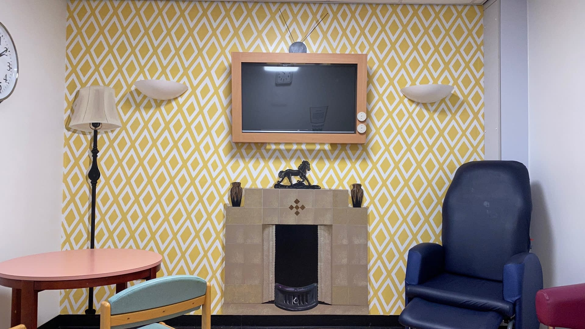 Dementia Ward, Hospital Day Room