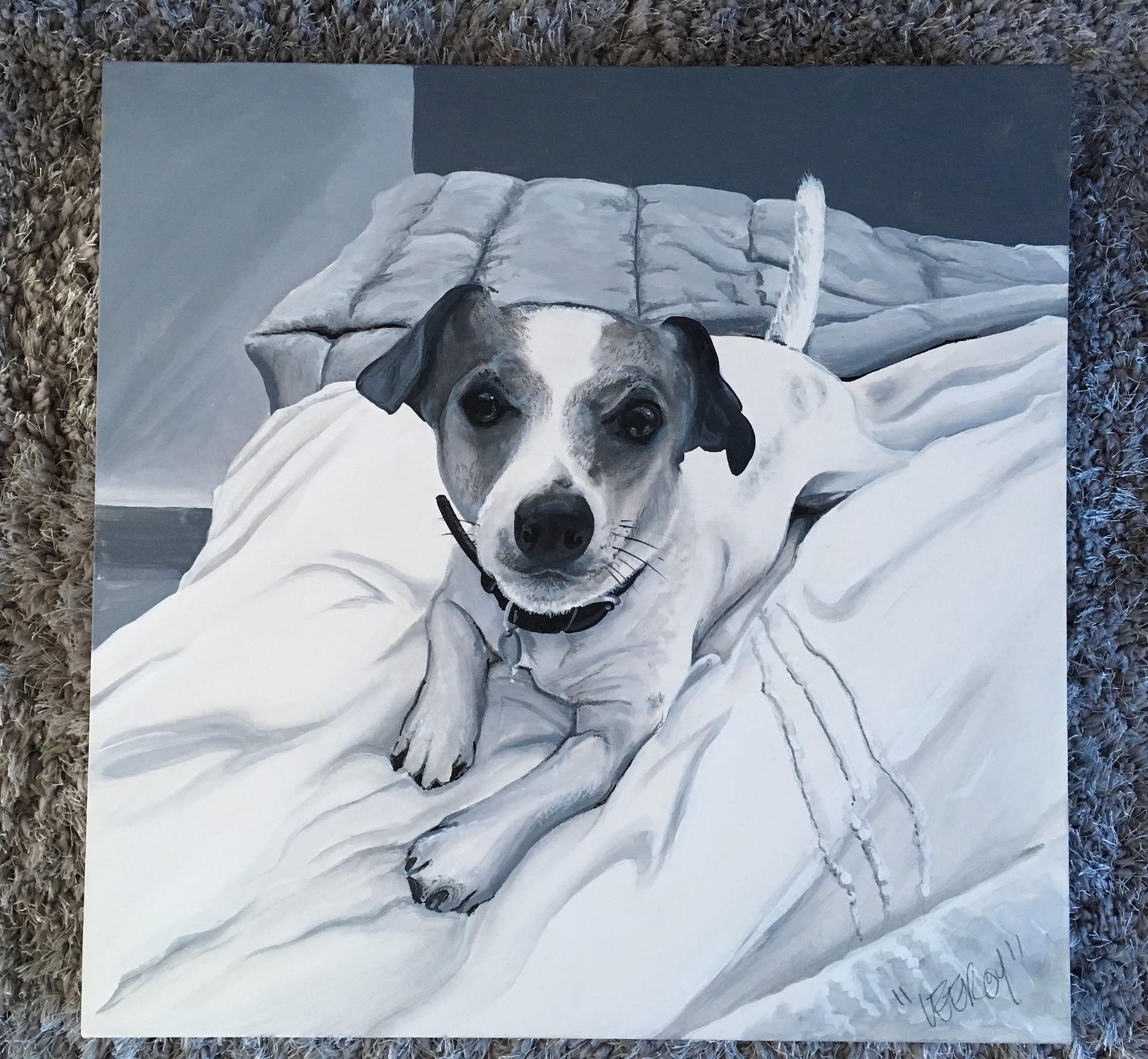 Jack 60 x 60 Acrylic on canvas