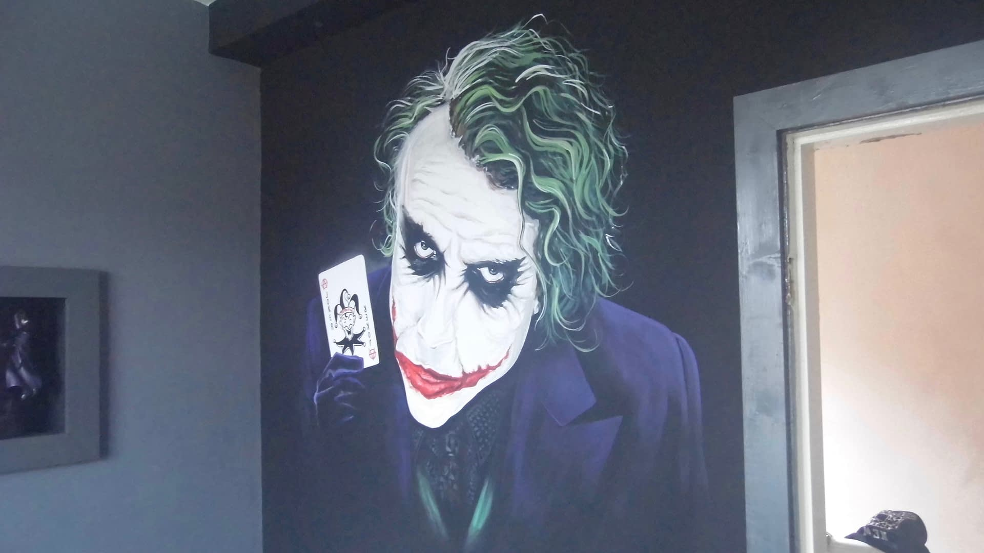 The Joker ( Why So Serious ) Mural