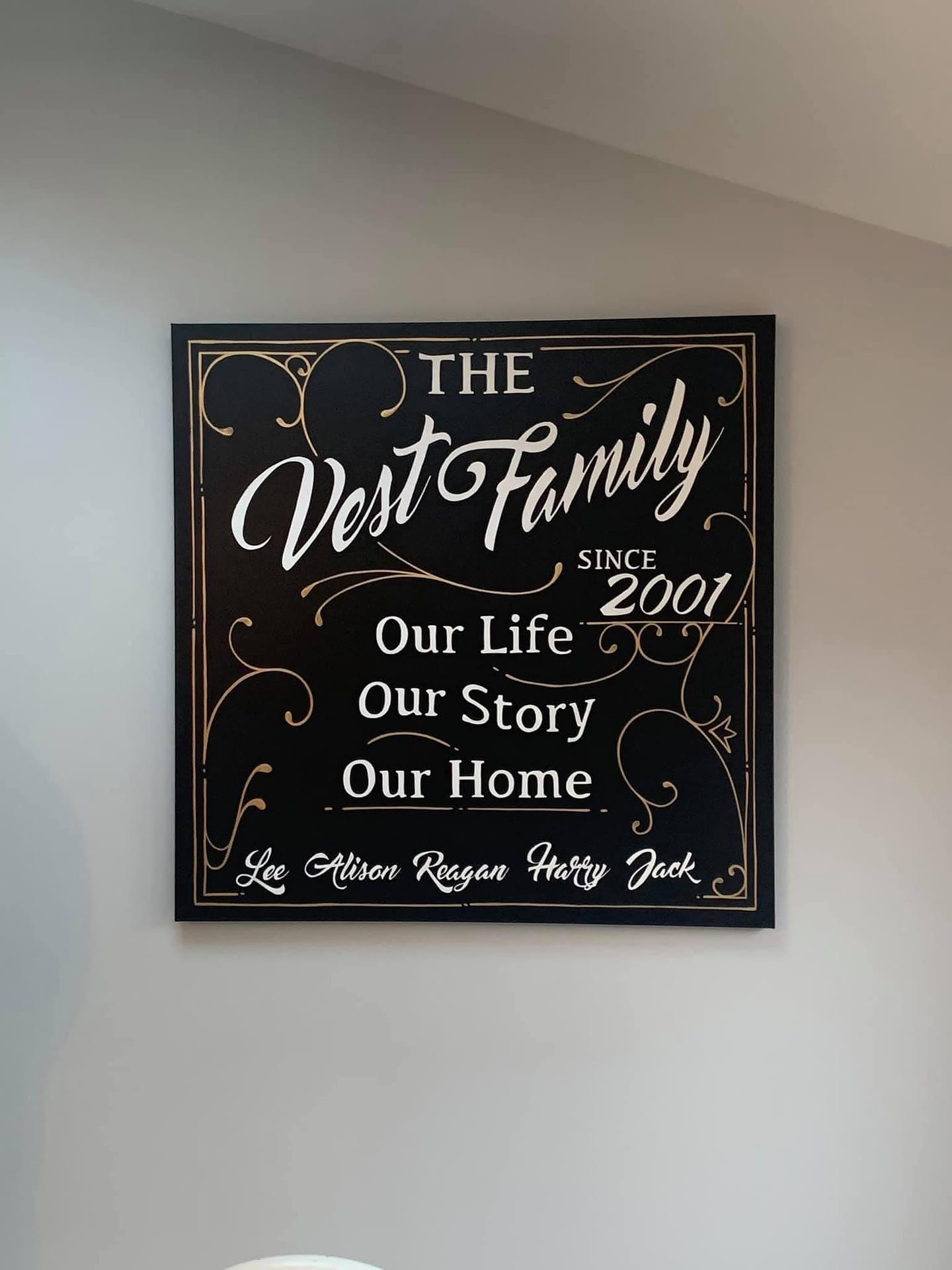 Vest Family Canvas
