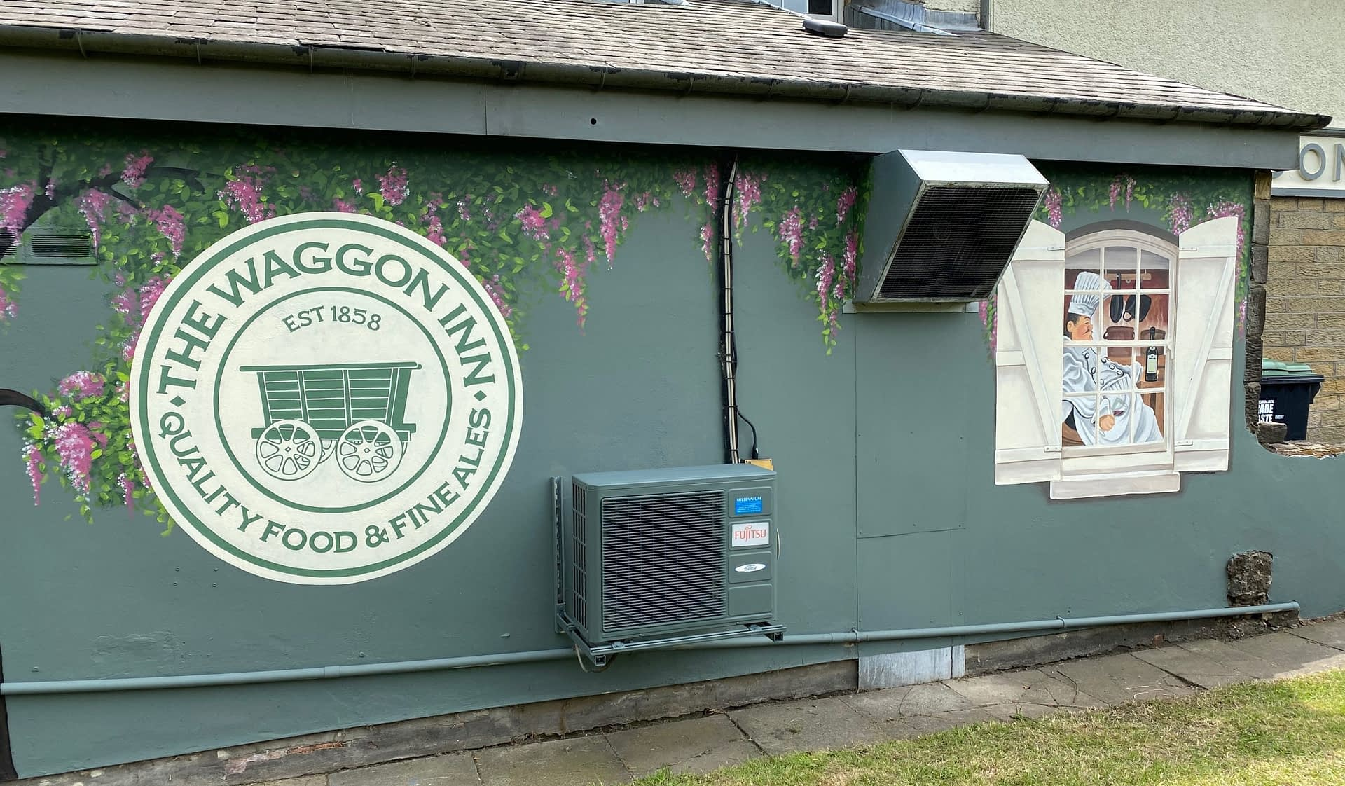 The Waggon Inn Beer Garden 1