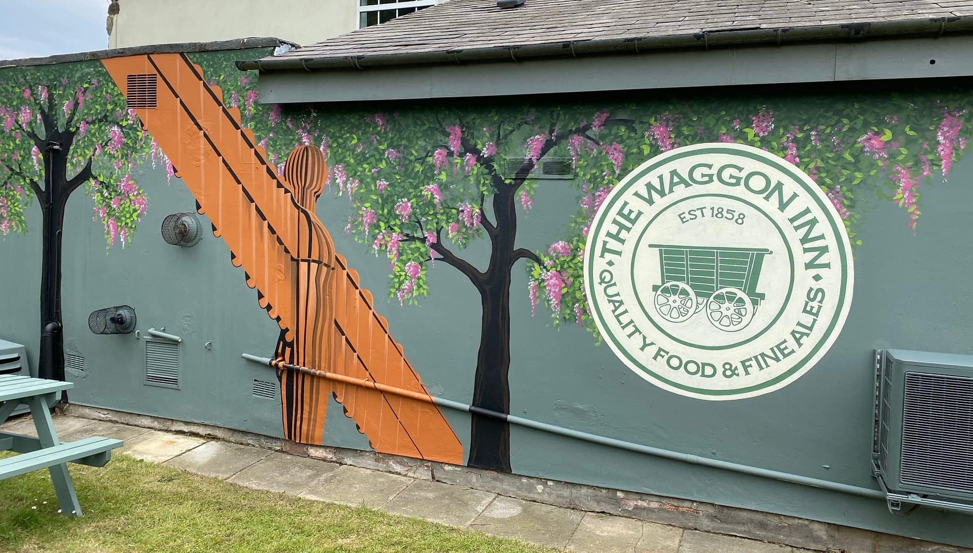 The Waggon Inn Beer Garden