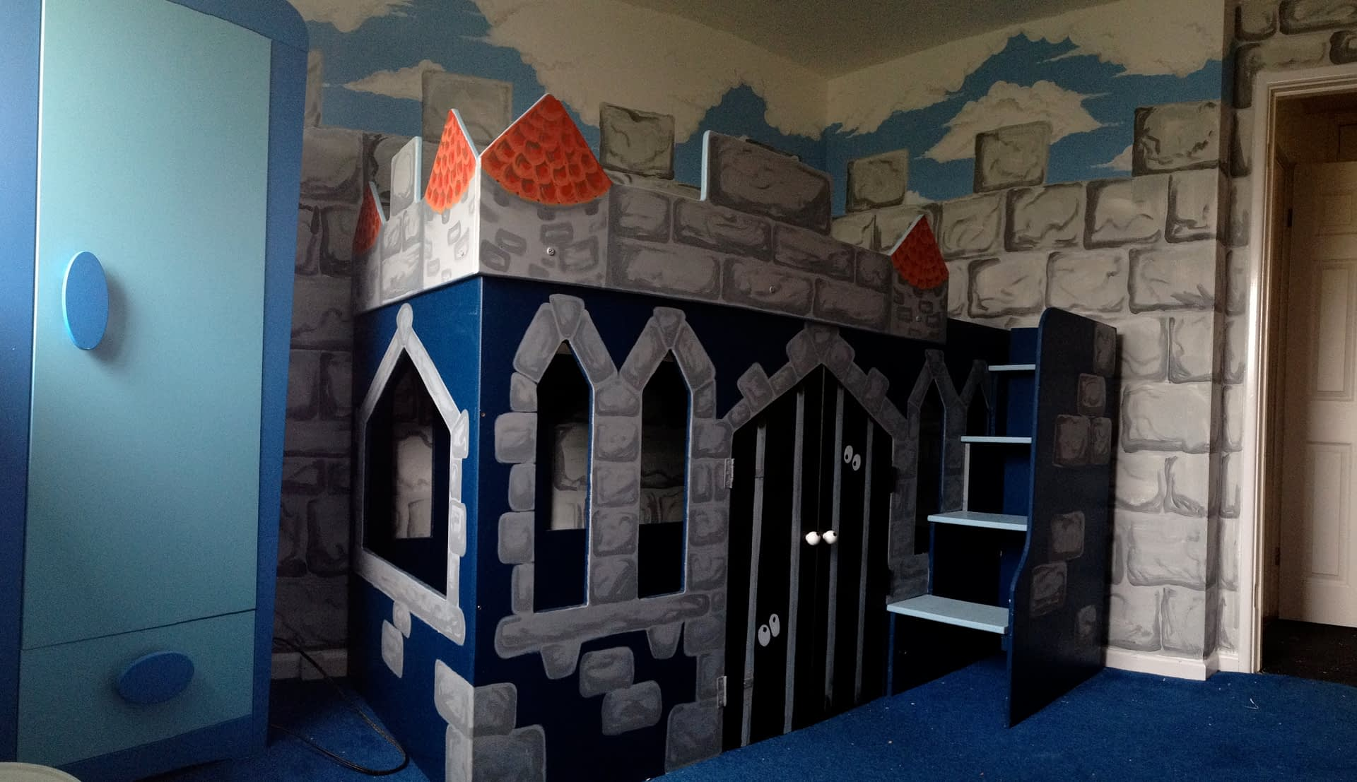 Castle Themed Bed