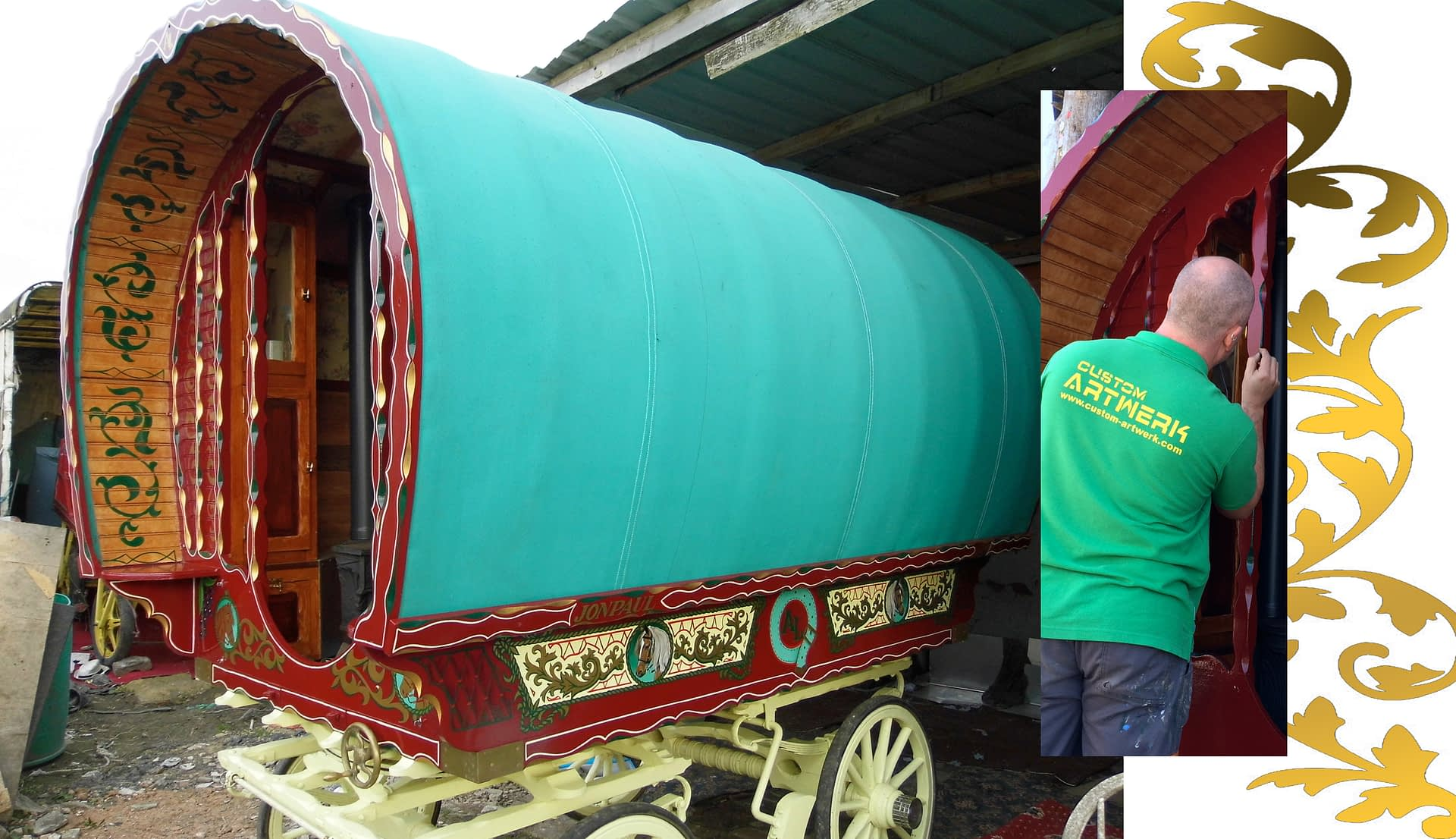 Gypsy / Vardo living Wagon 1
