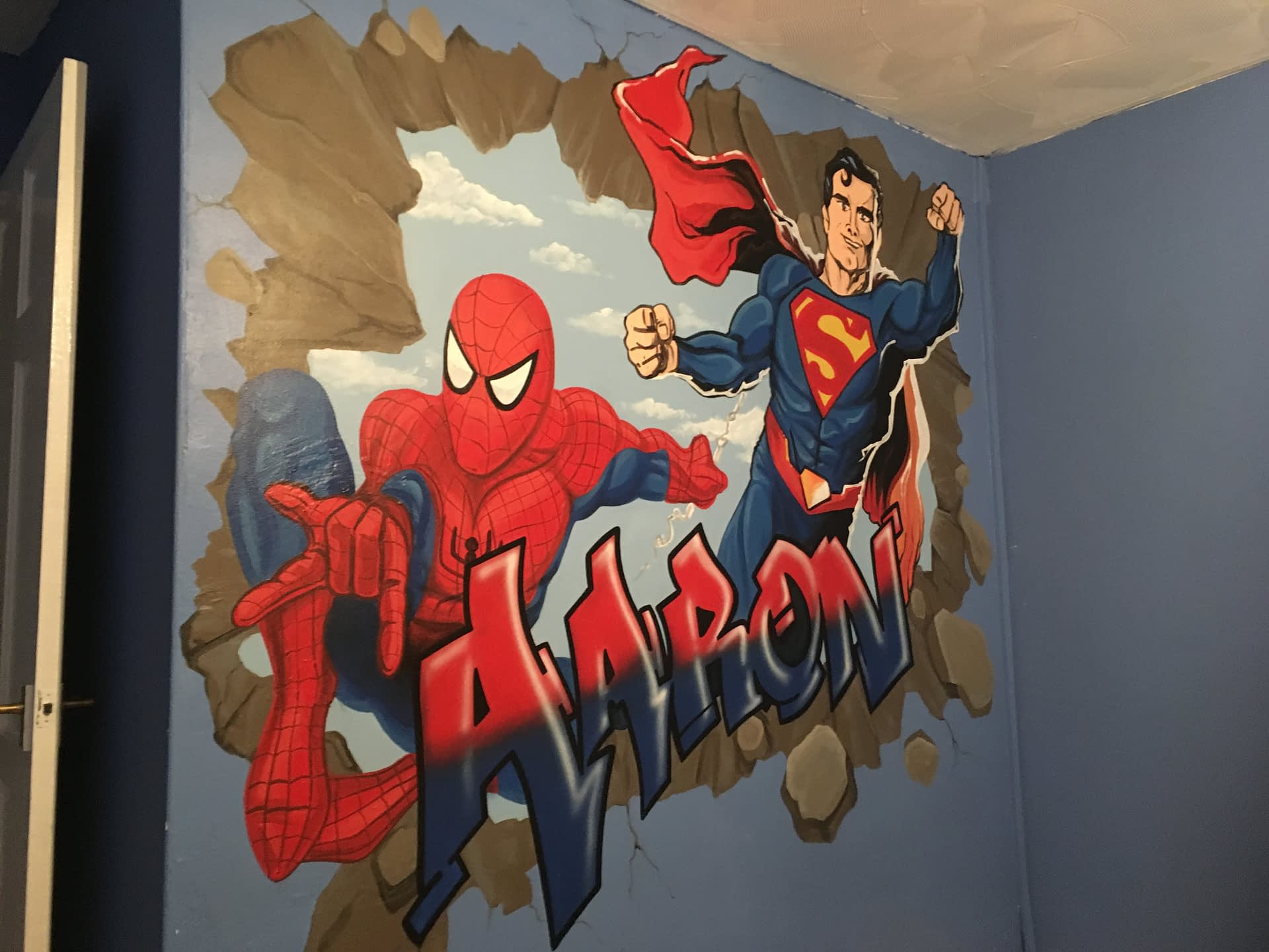 Aaron Graff / Spiderman & Superman