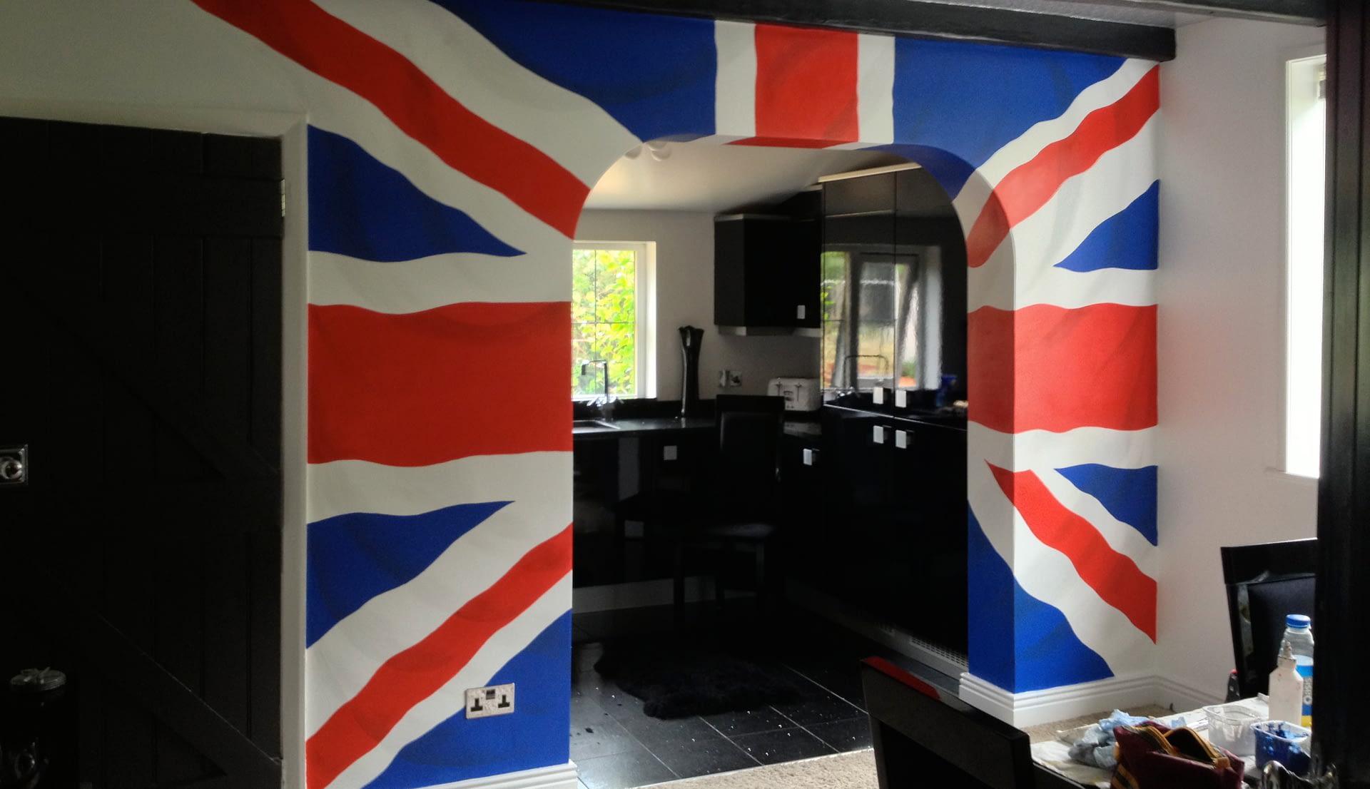 Union Jack Mural