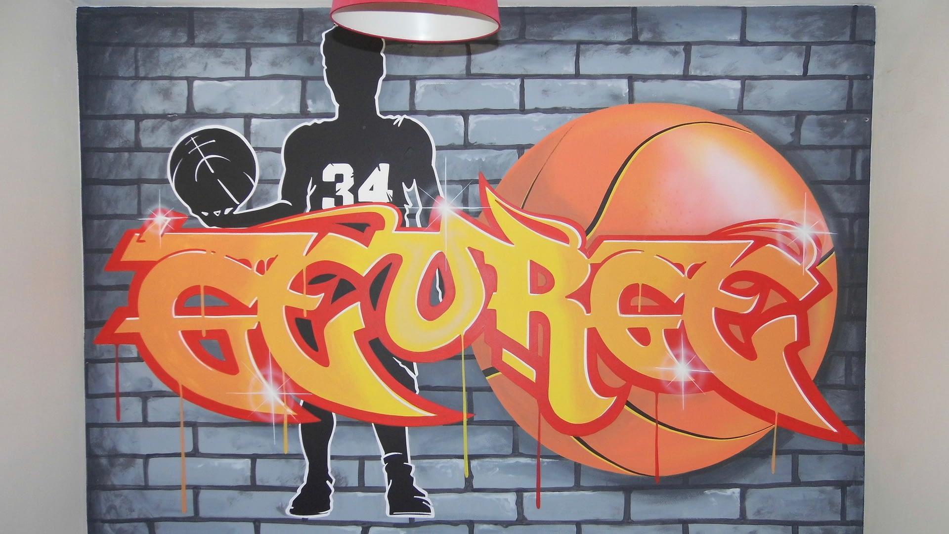 George Bedroom Graffiti