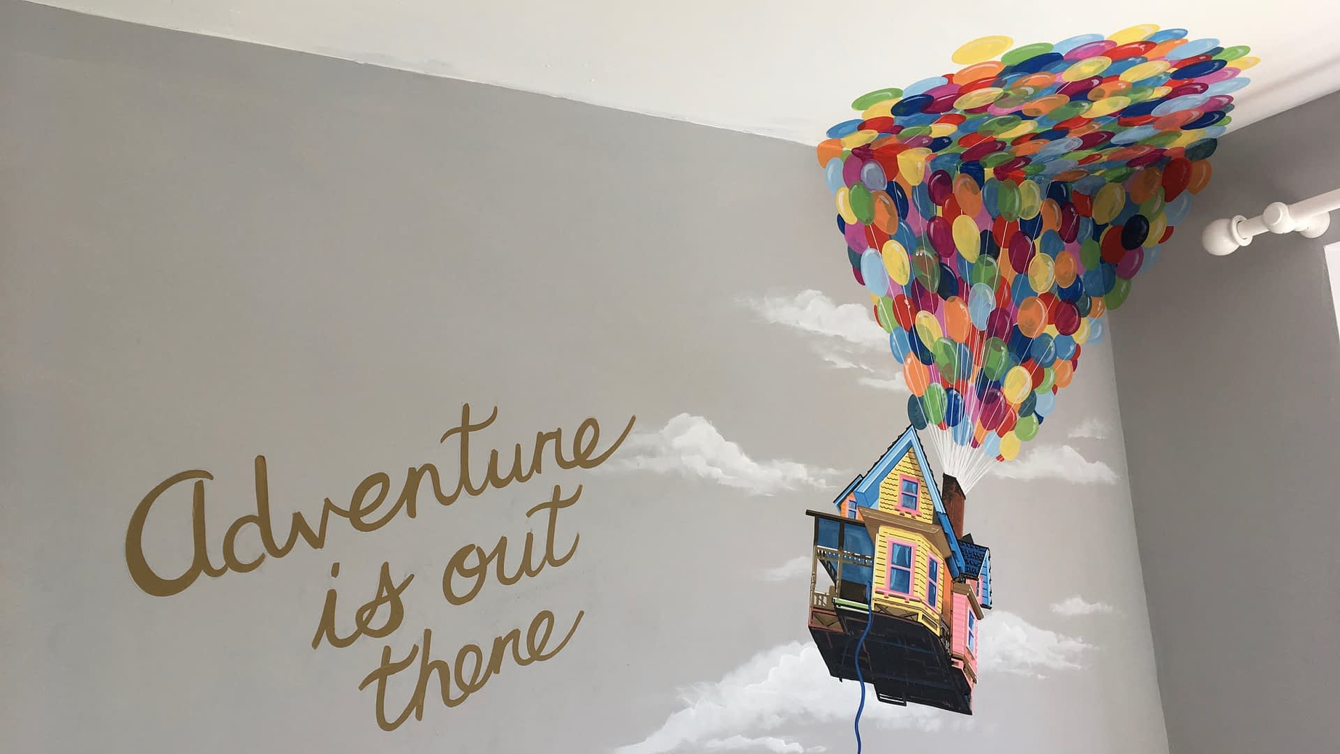 Up Mural ( Adventure is out there )