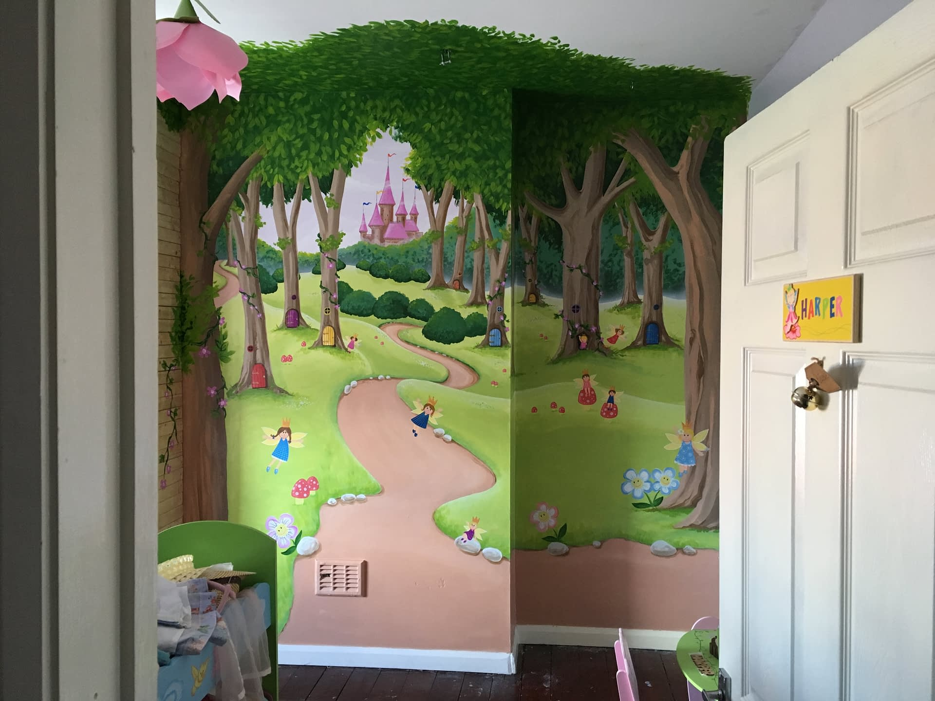 Fairy Forest Mural