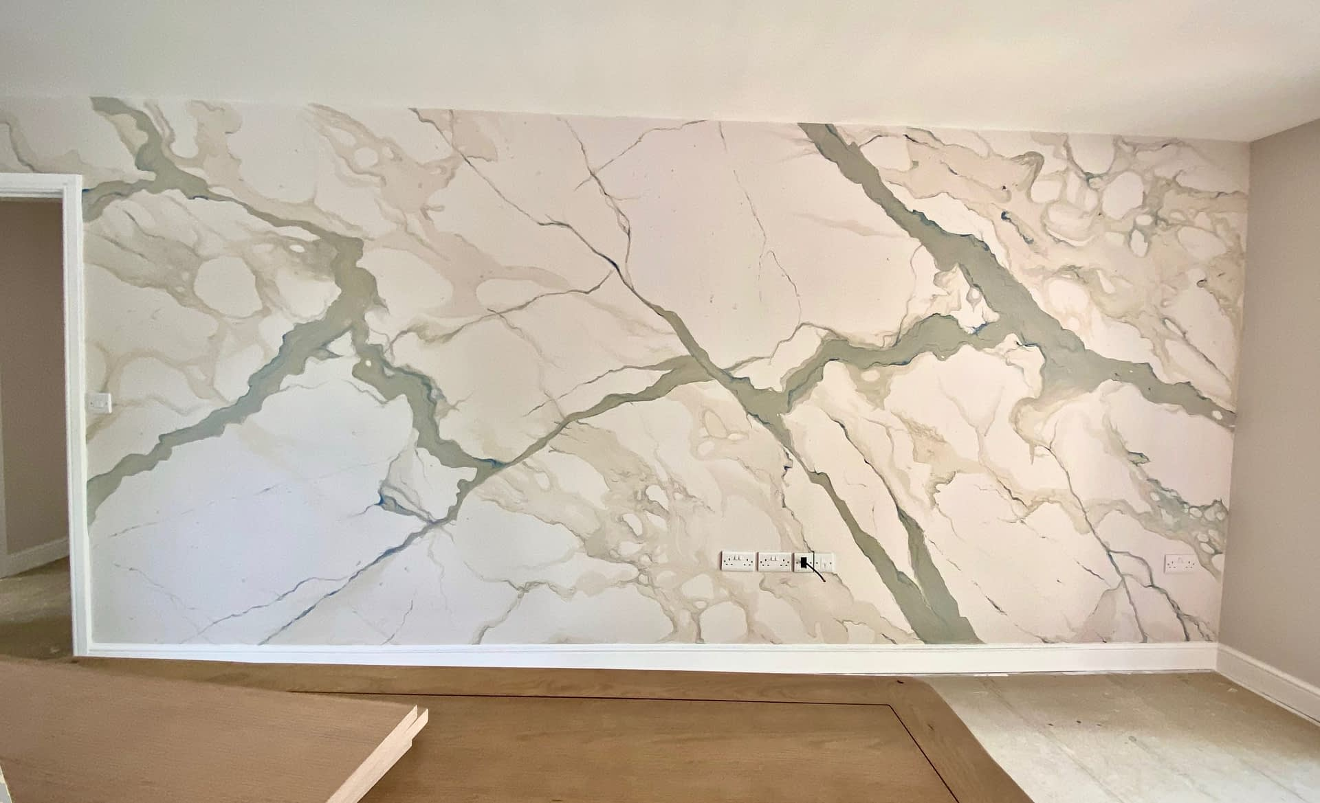 Marble Feature Wall