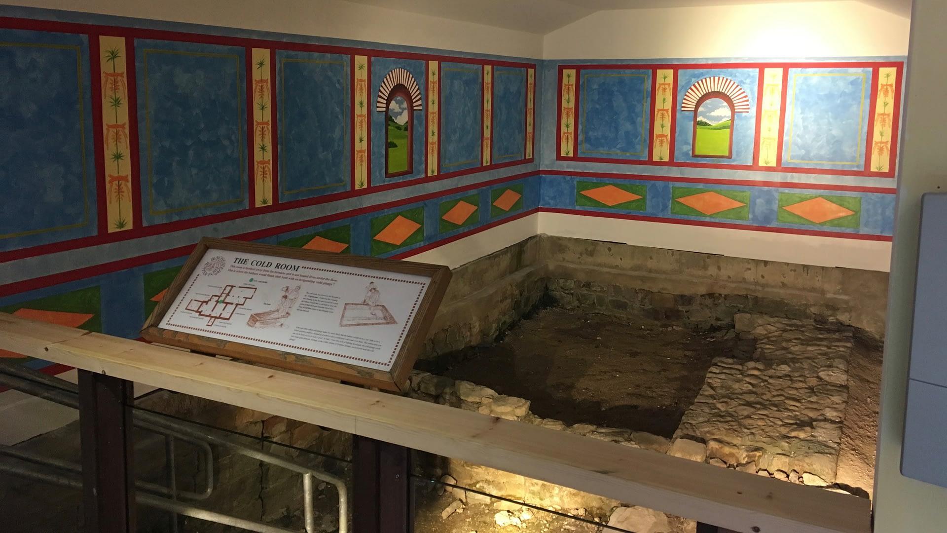 Binchester Roman Fort Bath house 2