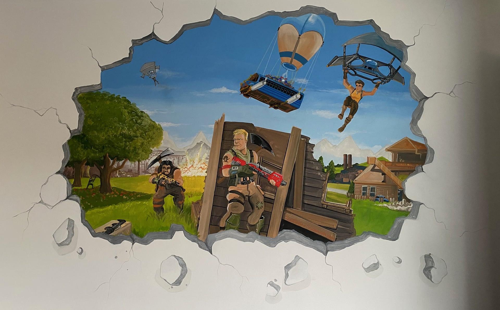 Fortnite Mural