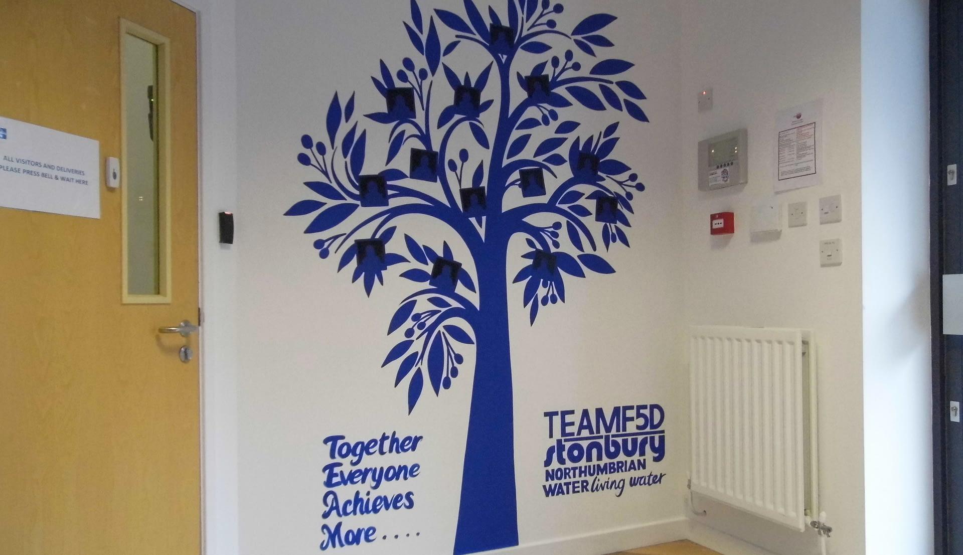 Staff Tree Mural