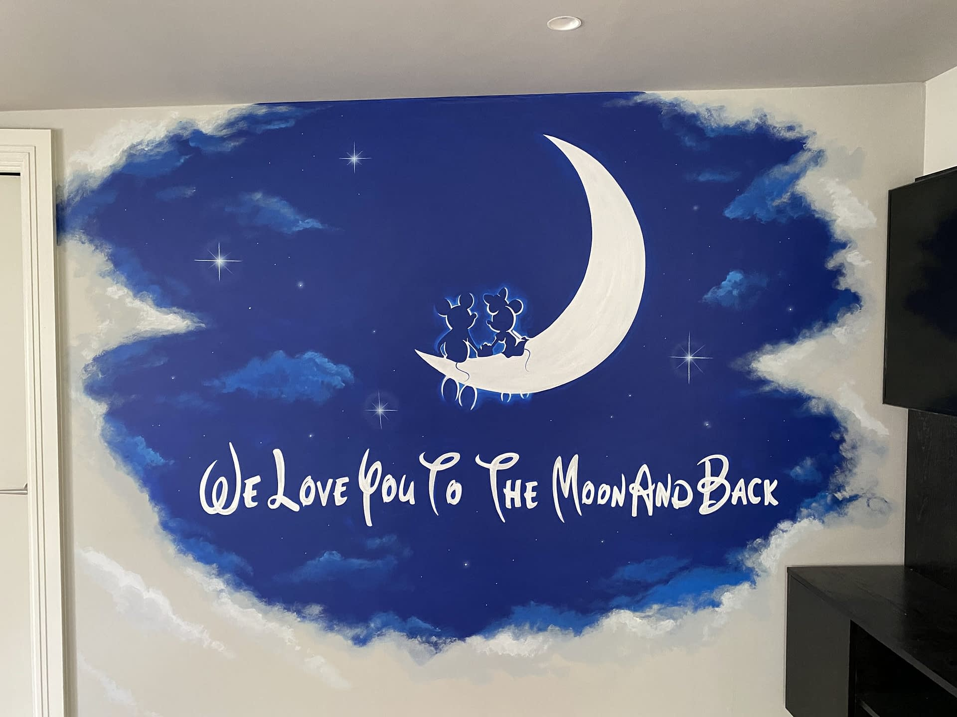We Love You To The Moon And Back ( Disney )