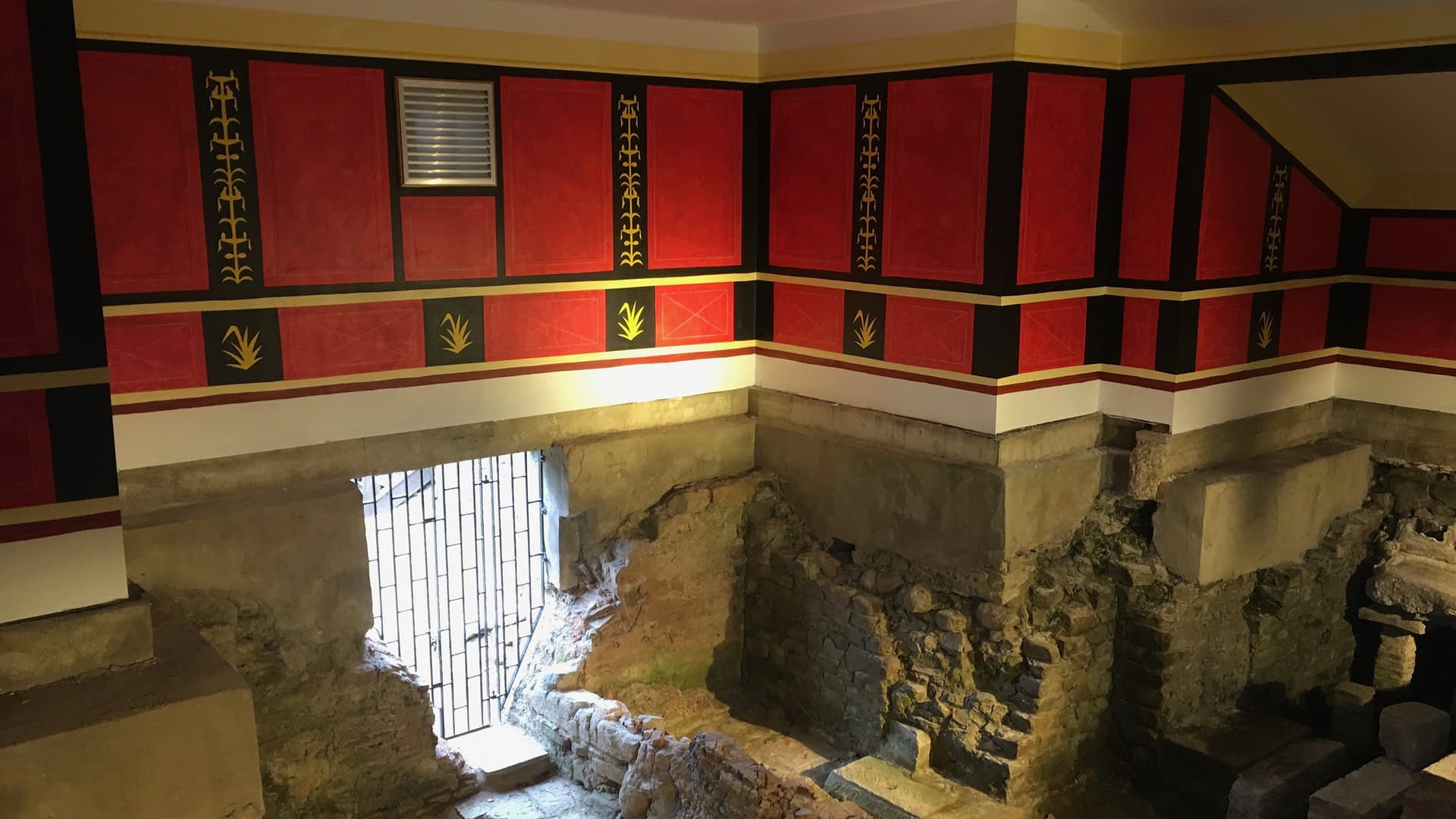 Binchester Roman Fort Bath house 3