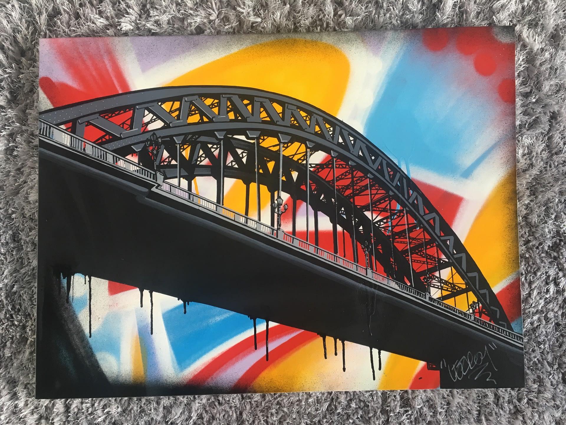 Graff on the tyne canvas 600x800