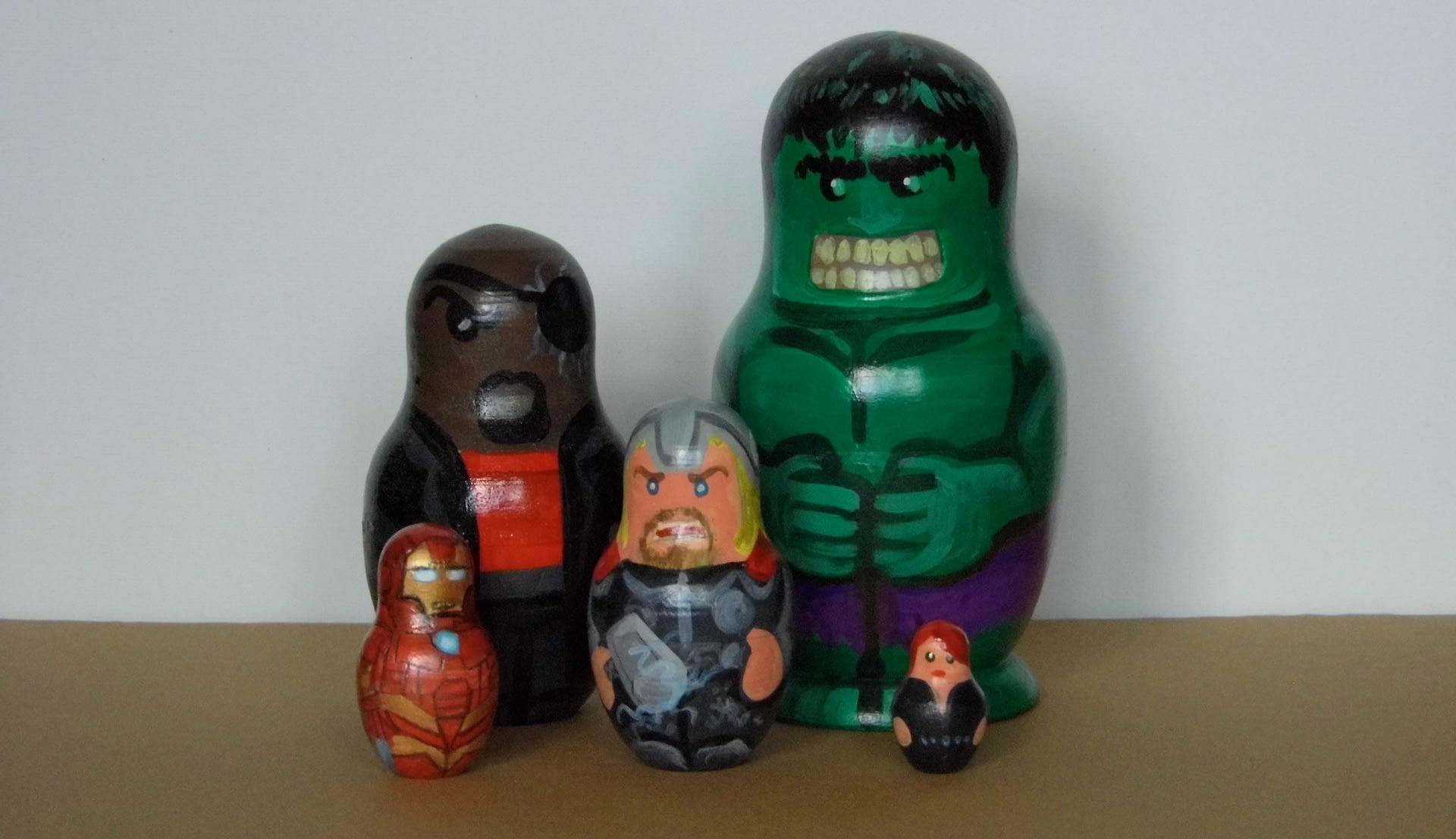Avengers Nesting Dolls