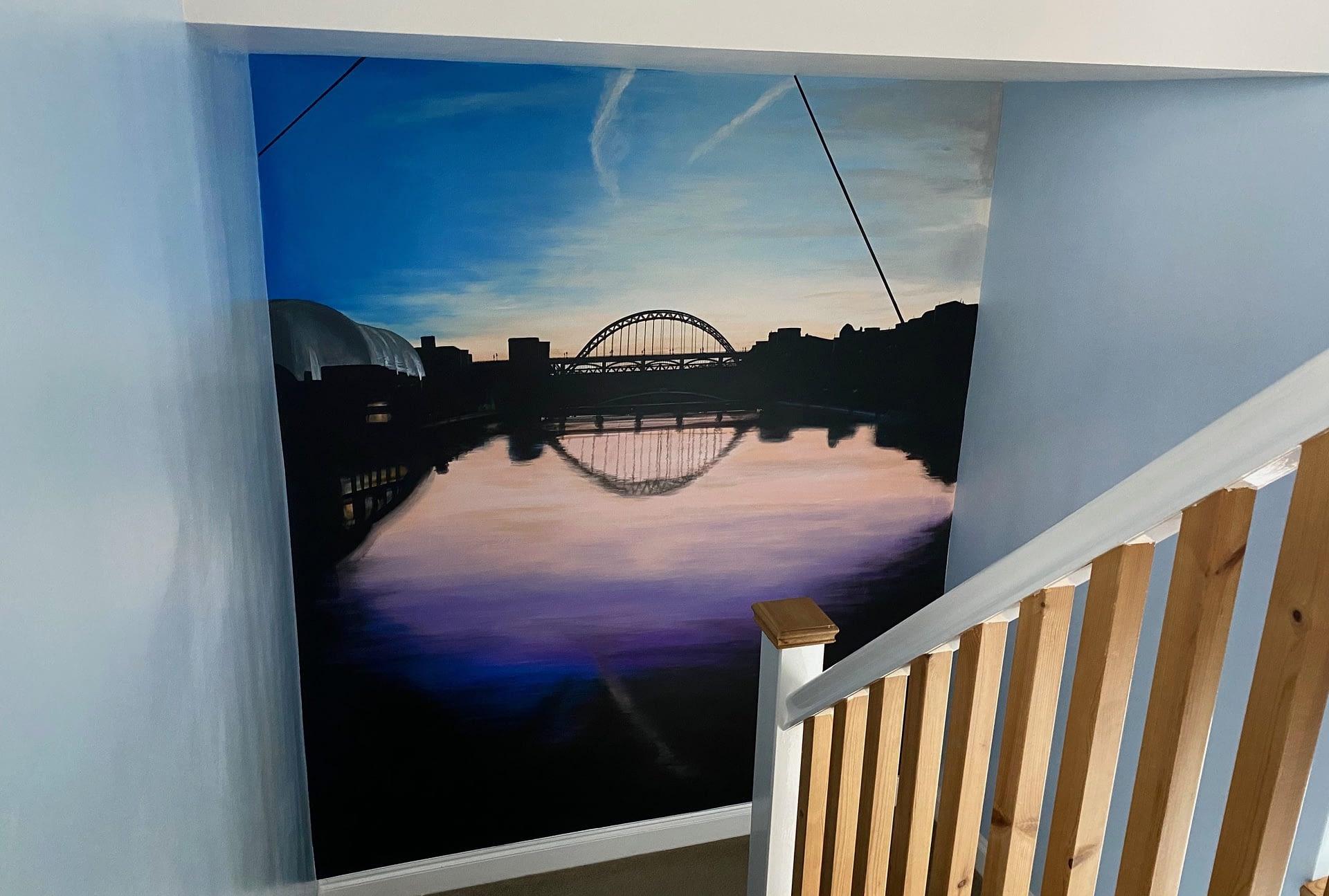 Tyne Memory mural