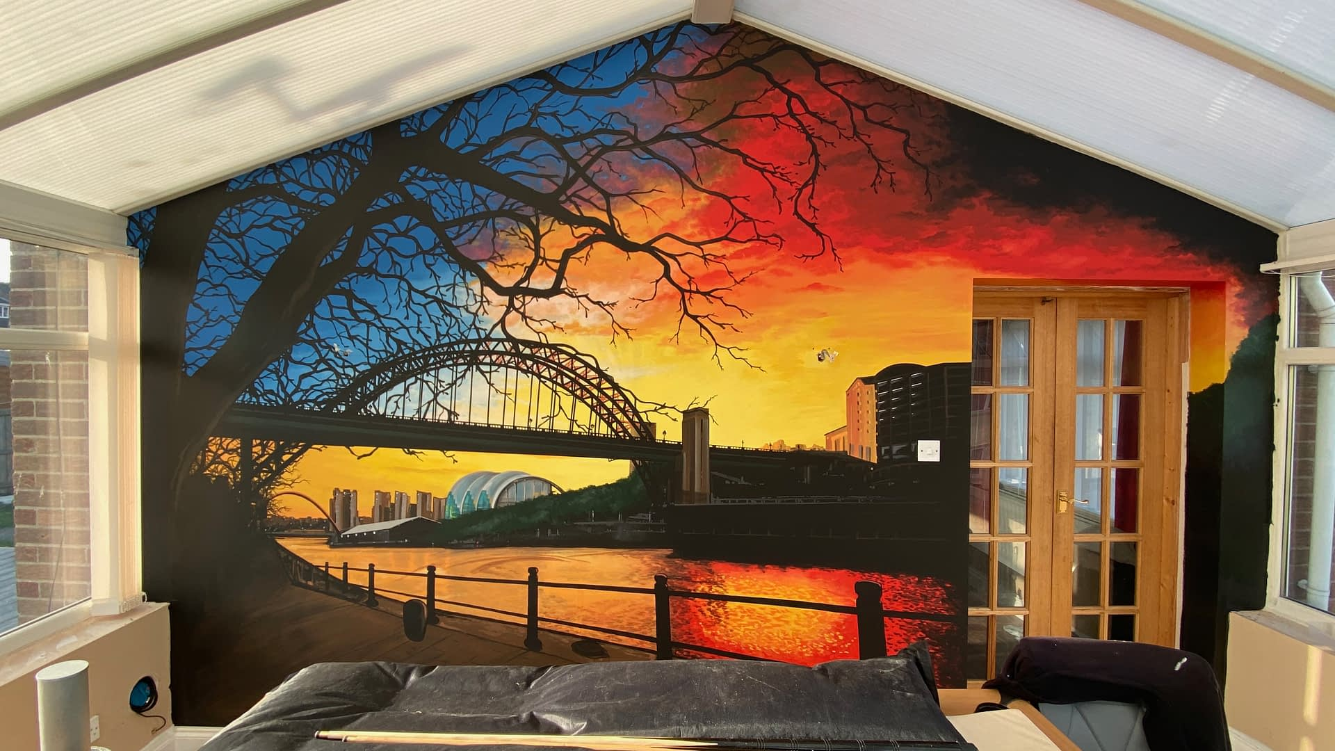 Tyne Sunrise Mural