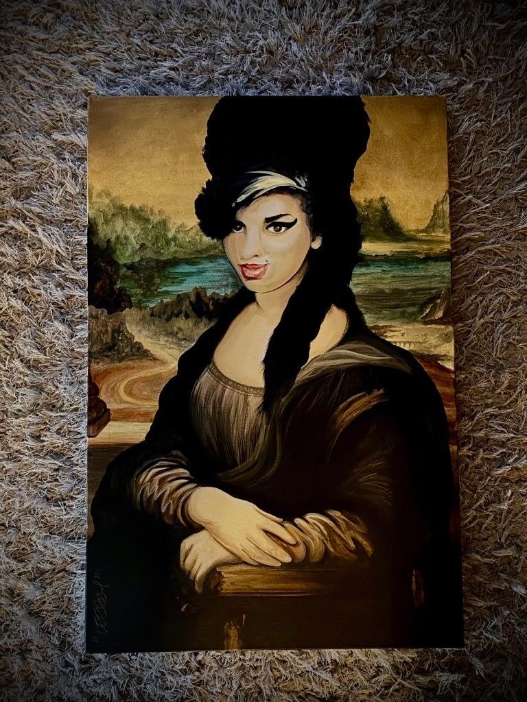 Amy Winehouse Mona Lisa