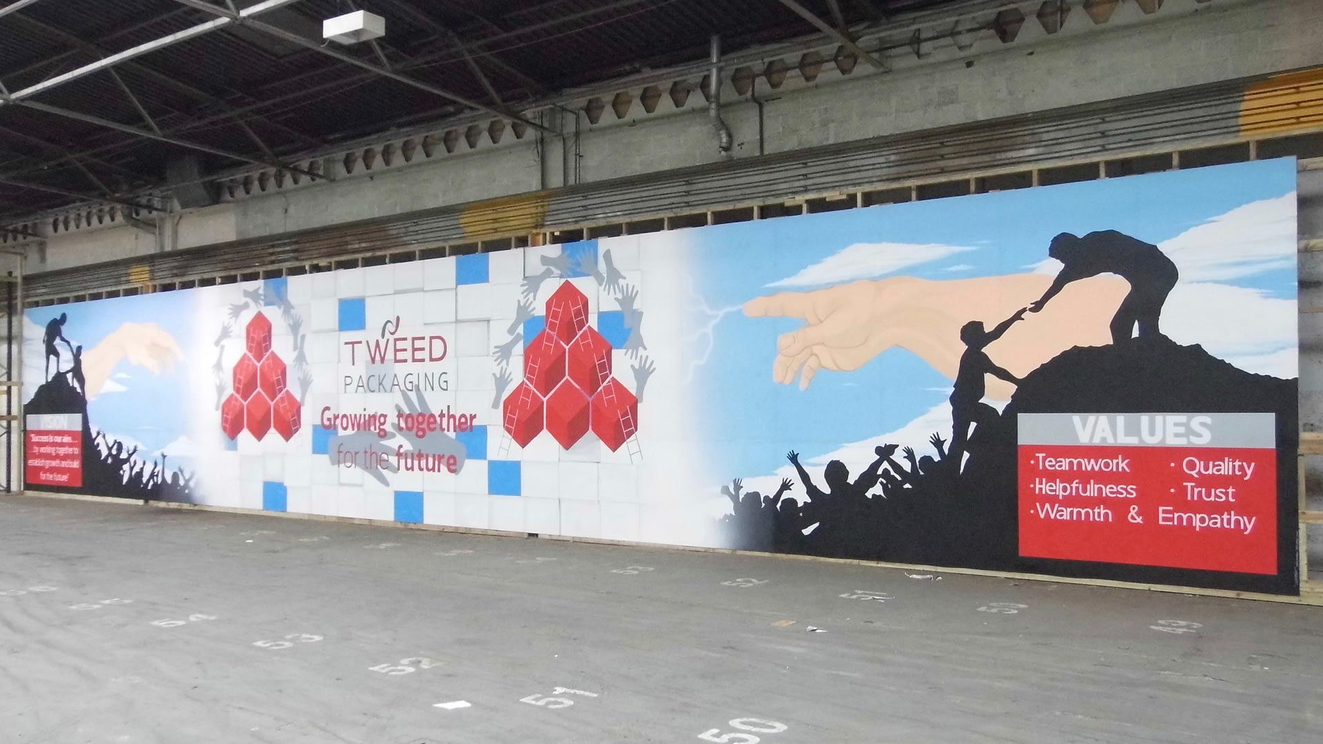 Corporate Wall Mural