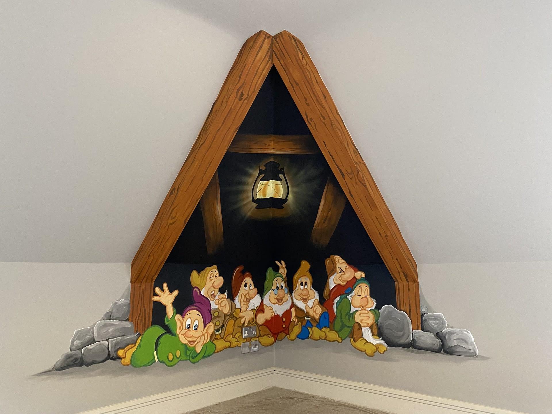 Seven Dwarfs Mural