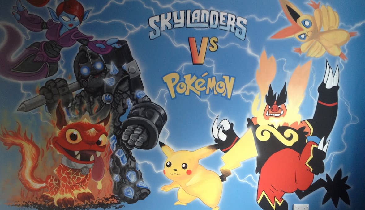 Skylanders & Pokemon