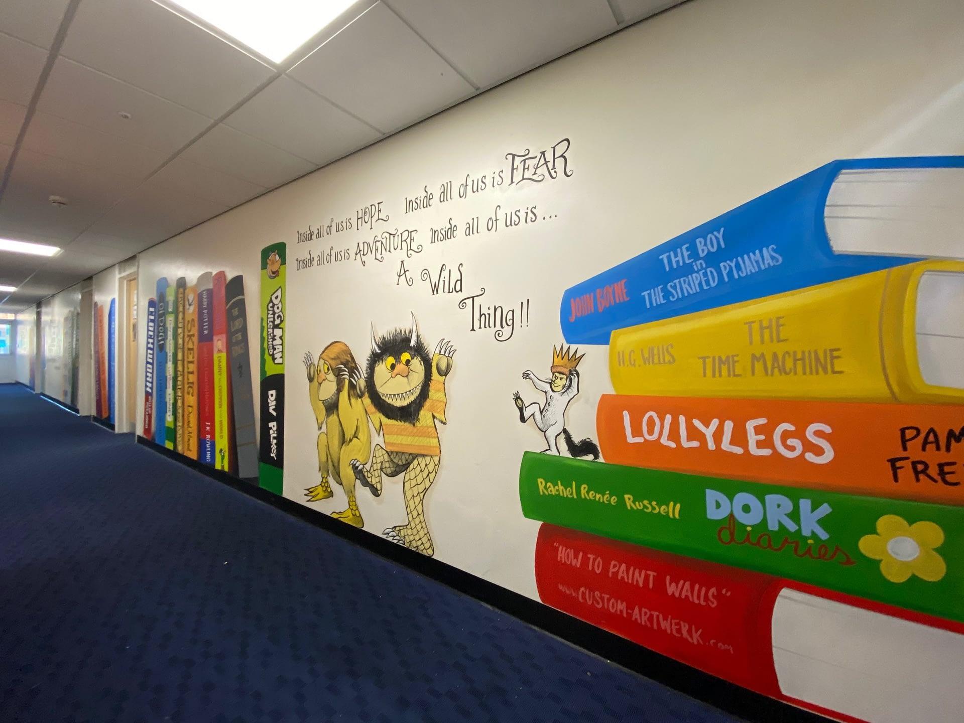 St Johns School KS2 Corridor