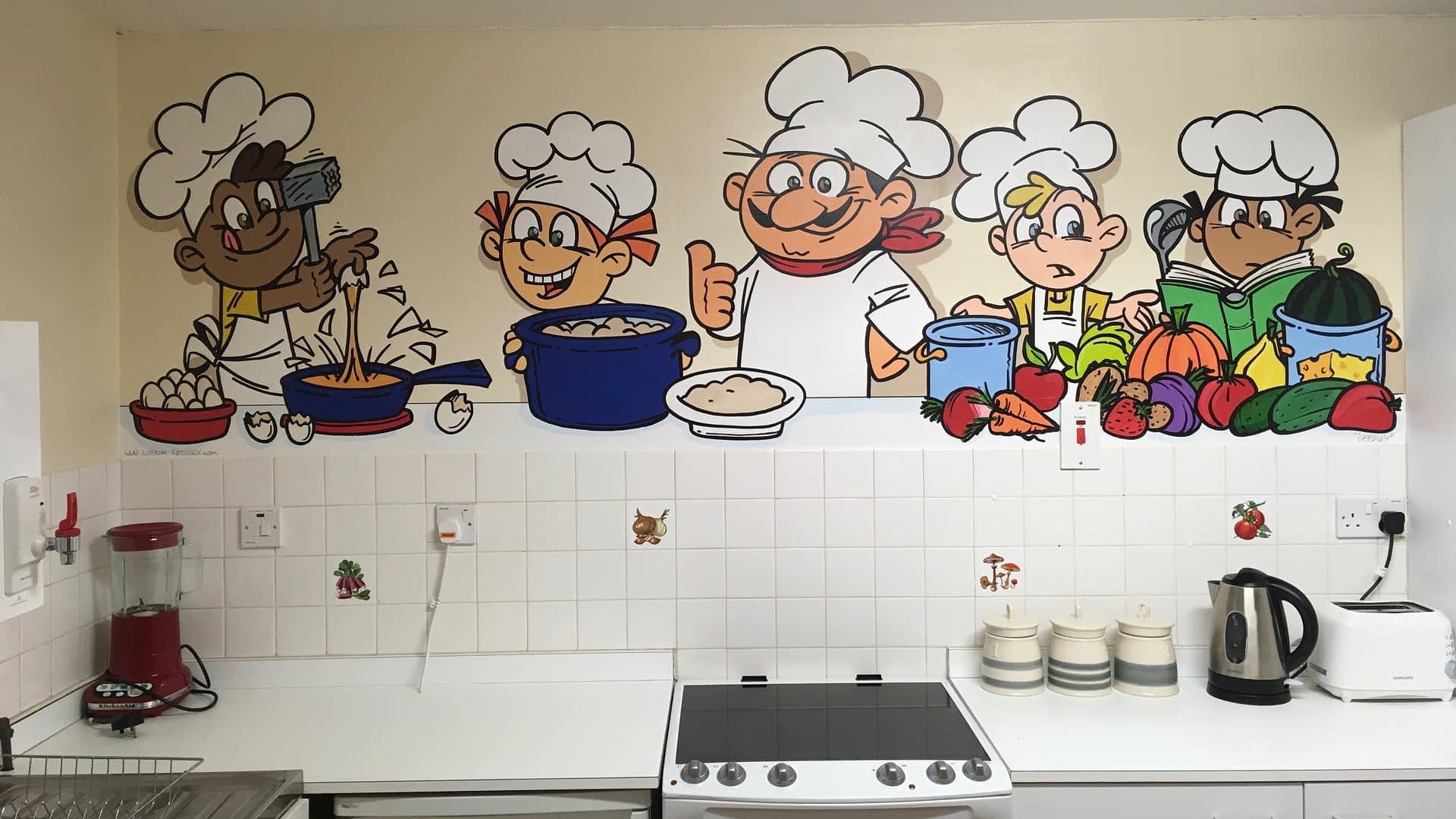 Walworth School Kitchen