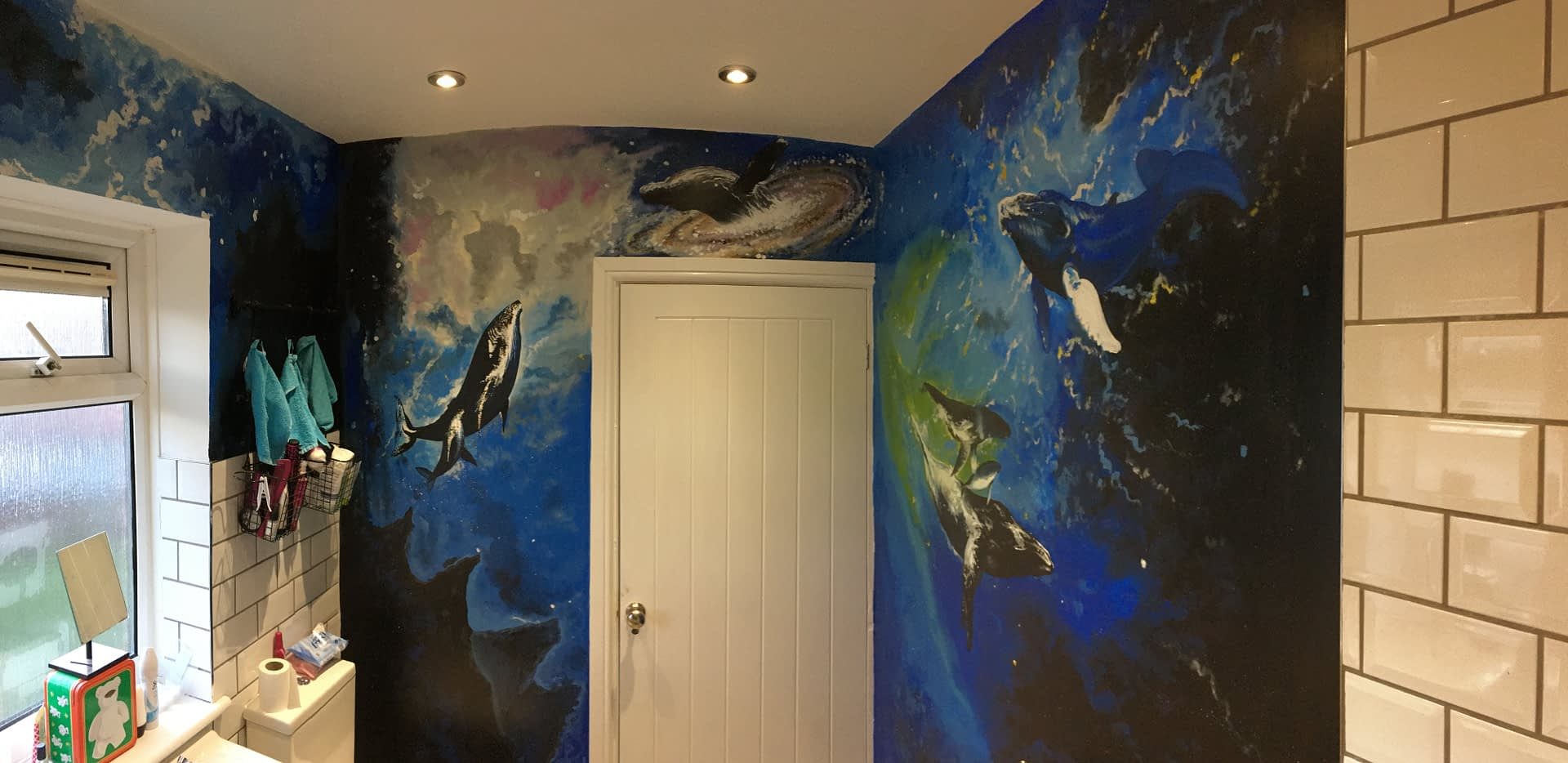 Whales in space