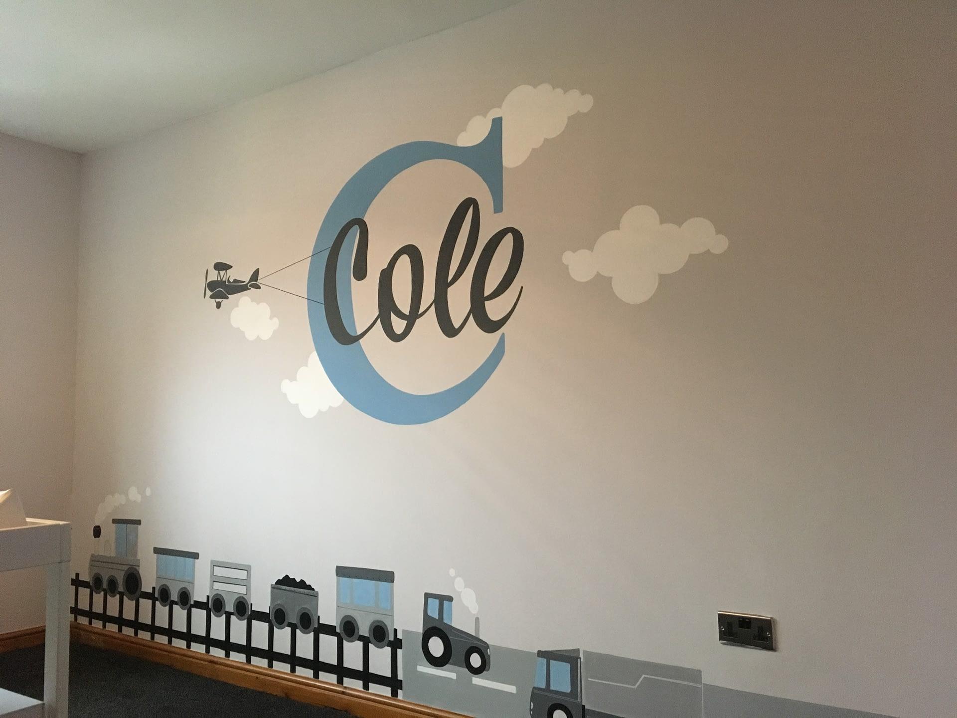 Cole Nursery Mural