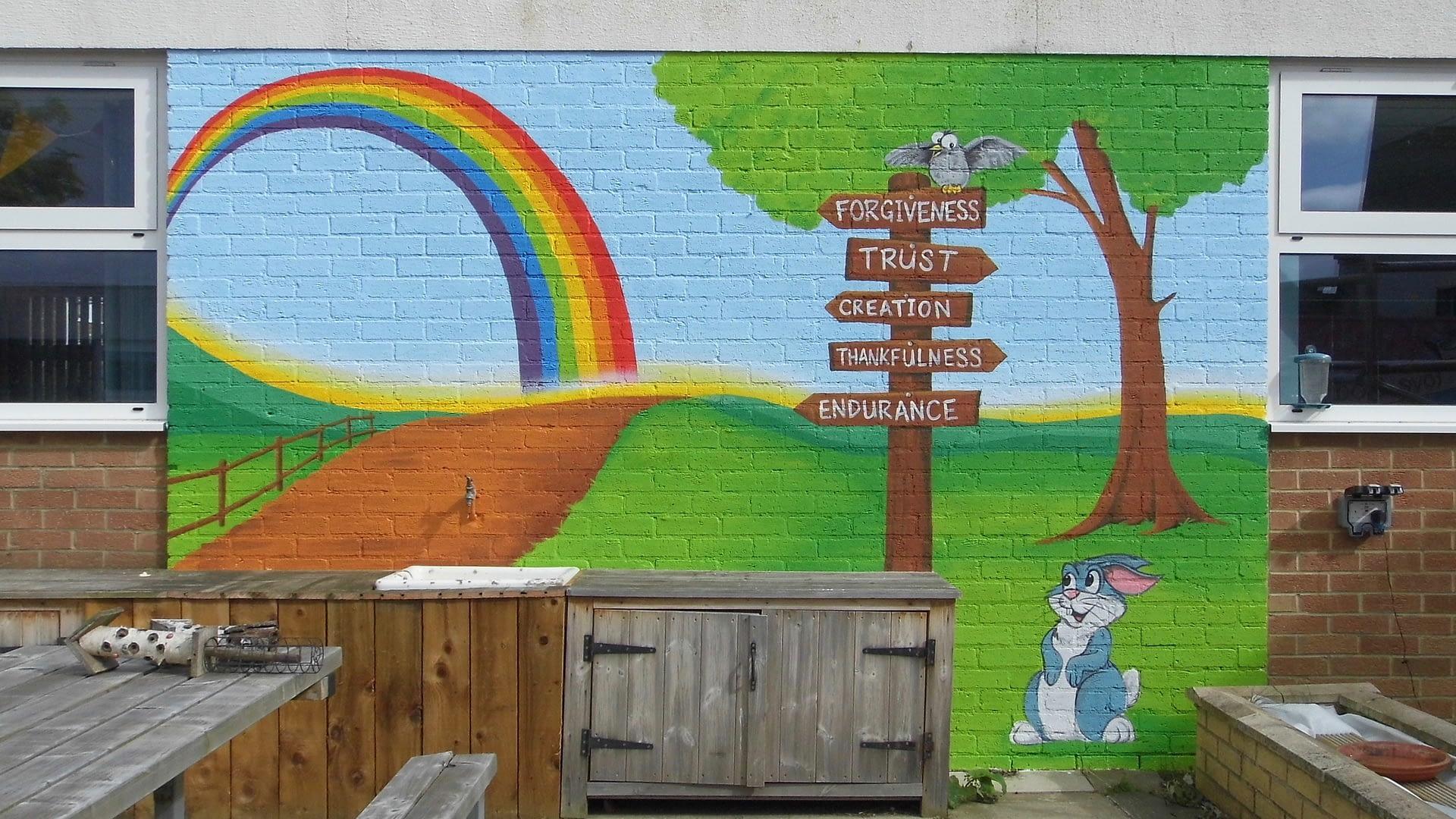 Faith Garden Wall