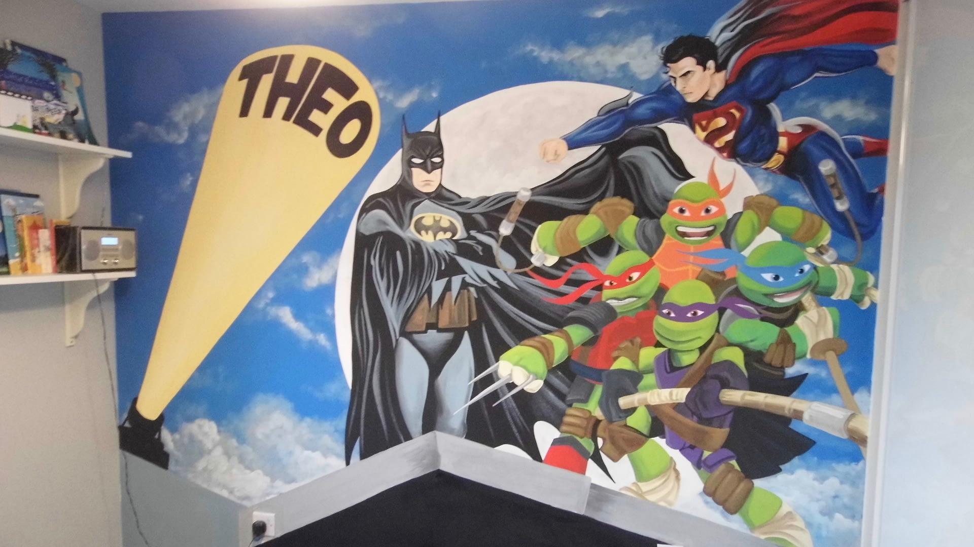 Heroes Mural