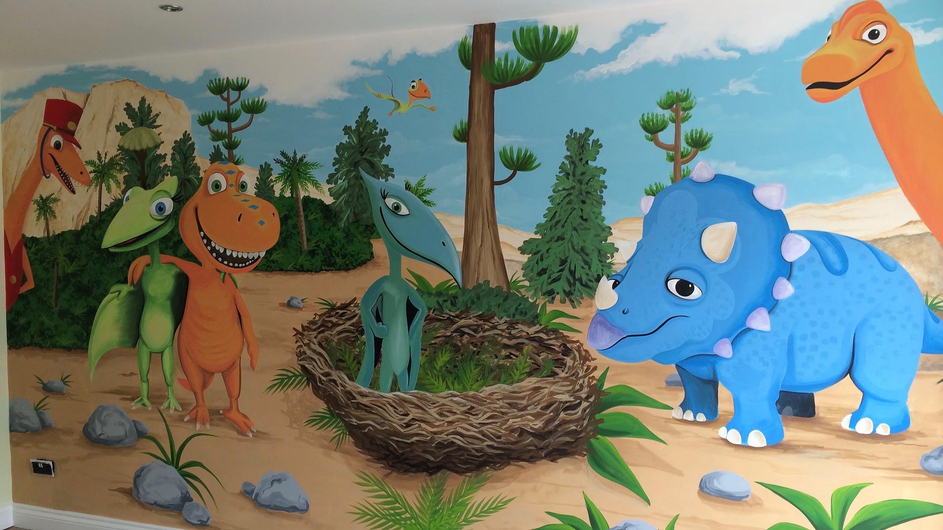 Dinosaur Train Mural
