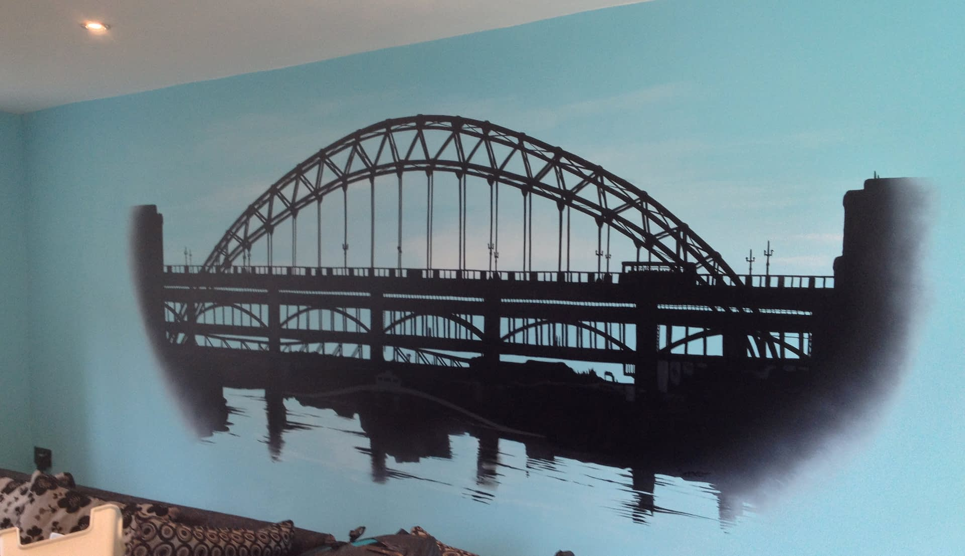 Tyne Bridge Mural