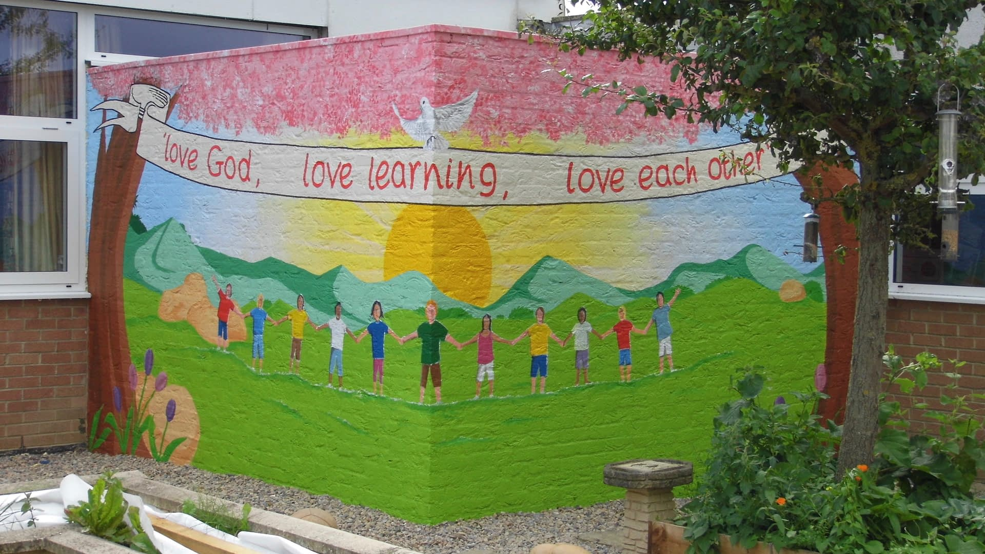 Faith Garden Mural