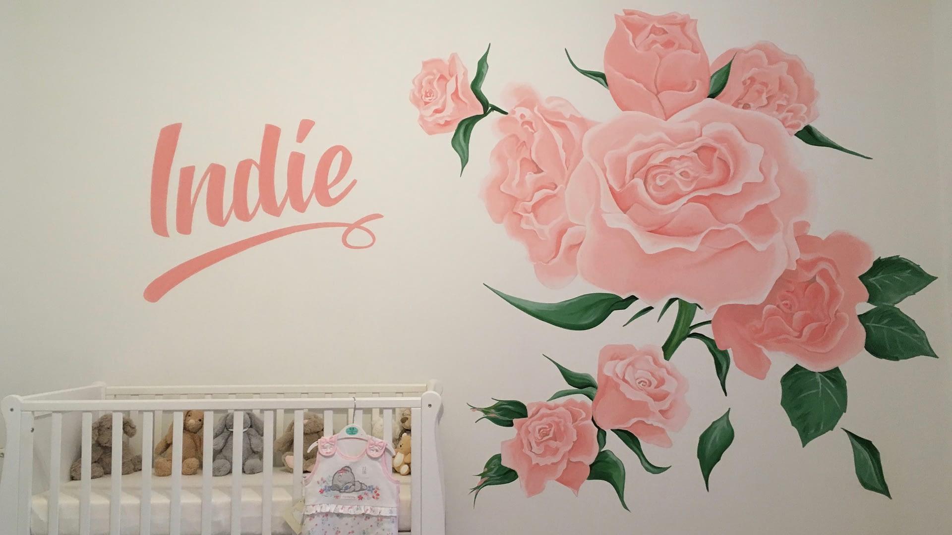 Roses Nursery Mural