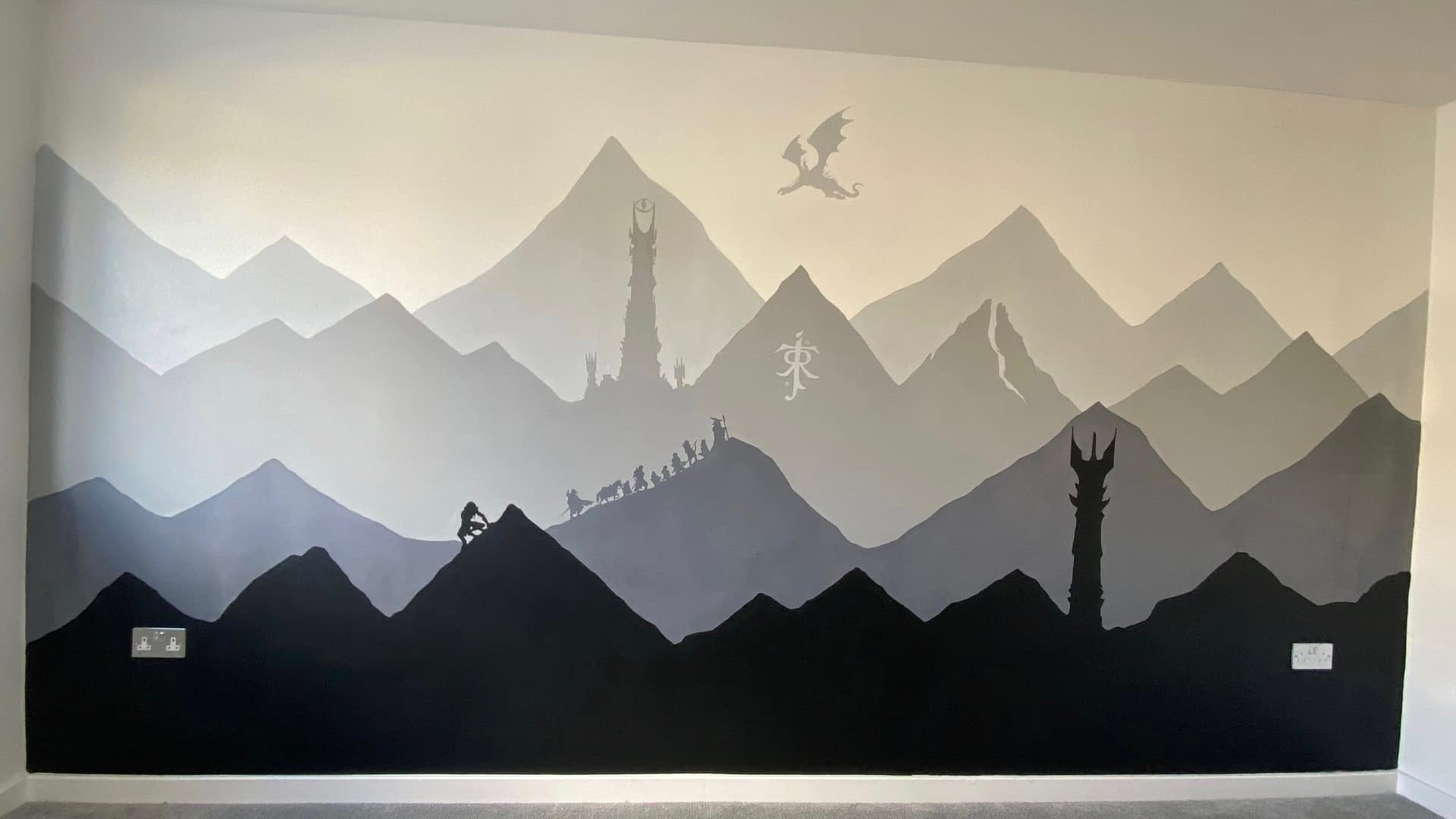LOTR Mural