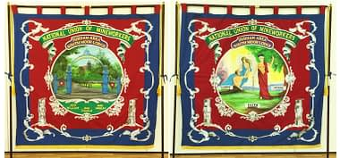South Moor Lodge Miners Banner Durham Gala 2017