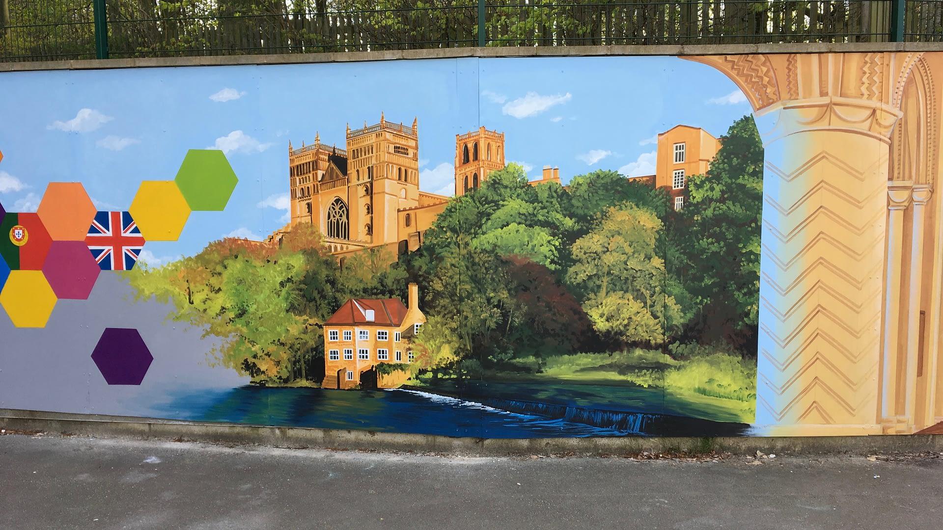 Durham Trinity School Mural 4