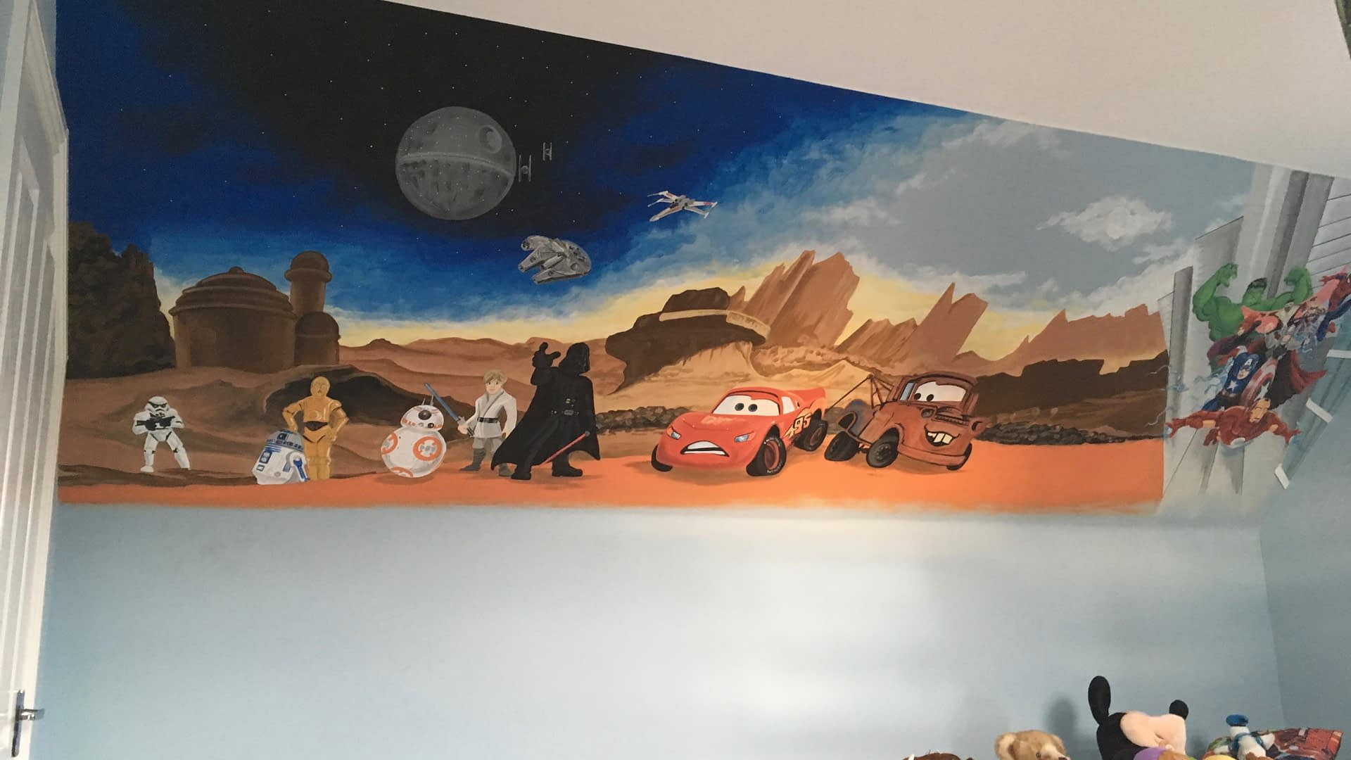 Cars Star Wars & Avengers