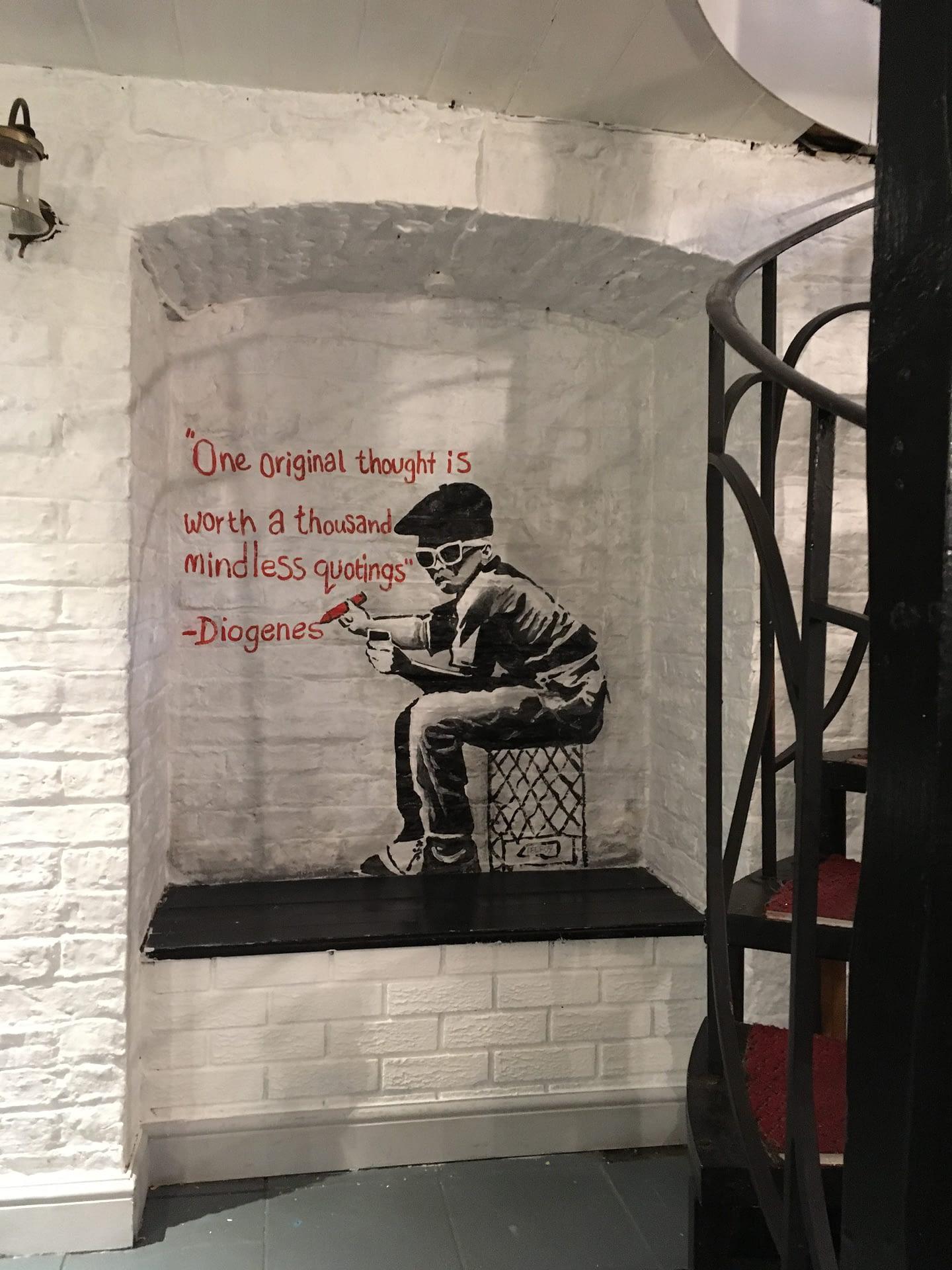 Basement Snaxx Banksy