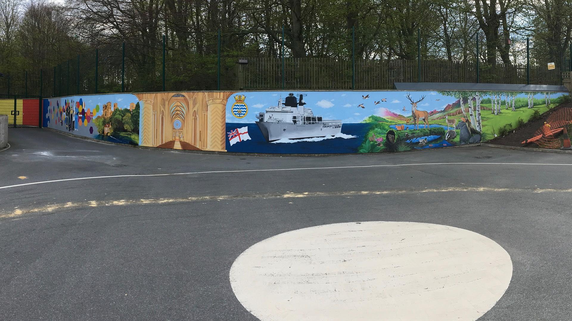 Durham Trinity School Mural