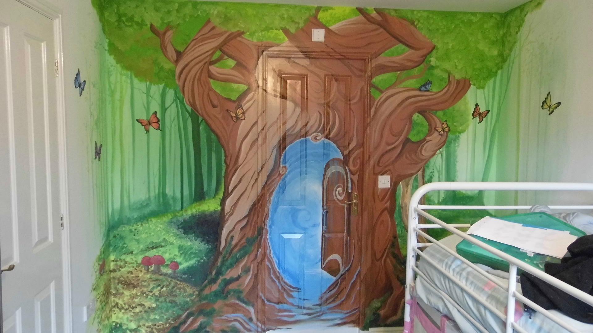 Secret Door Mural