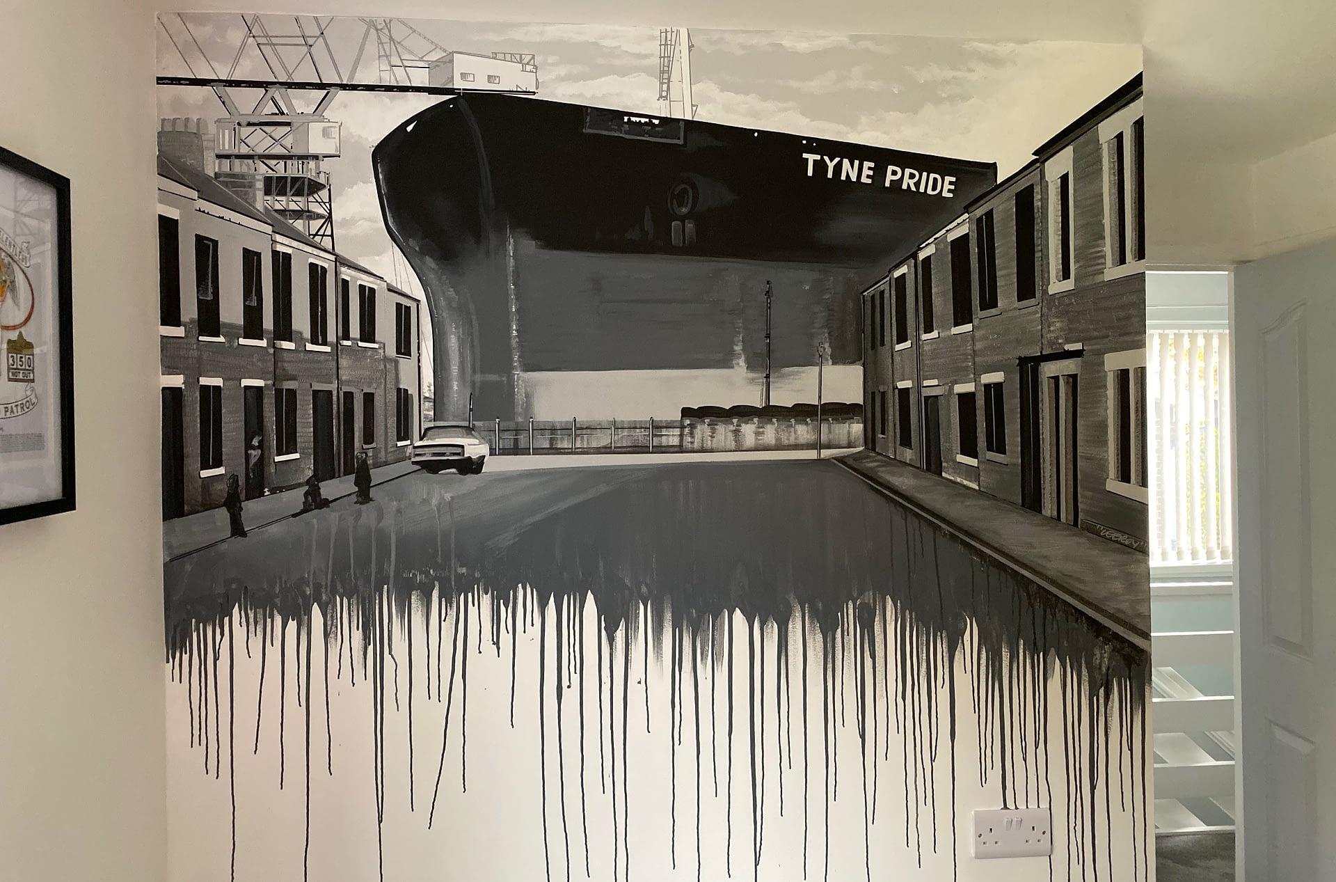 Tyne Pride Mural