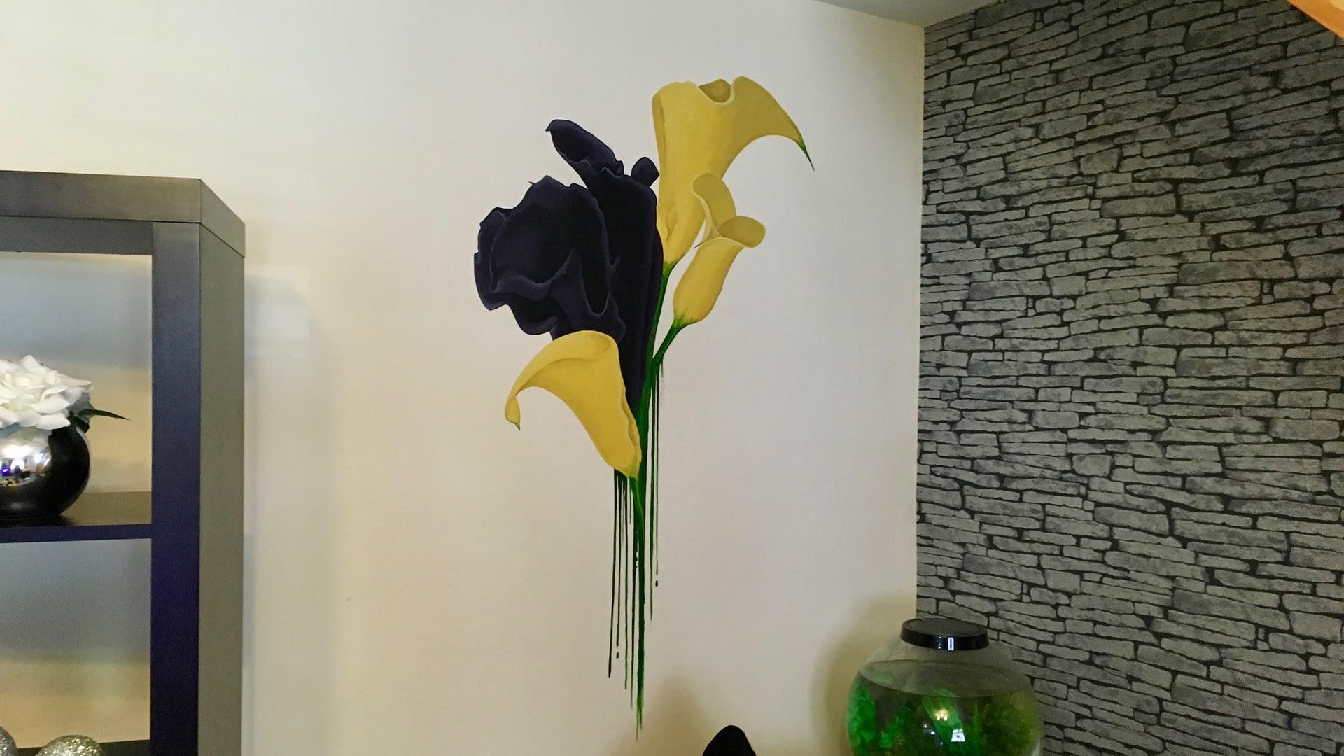 Calla Lilies Mural